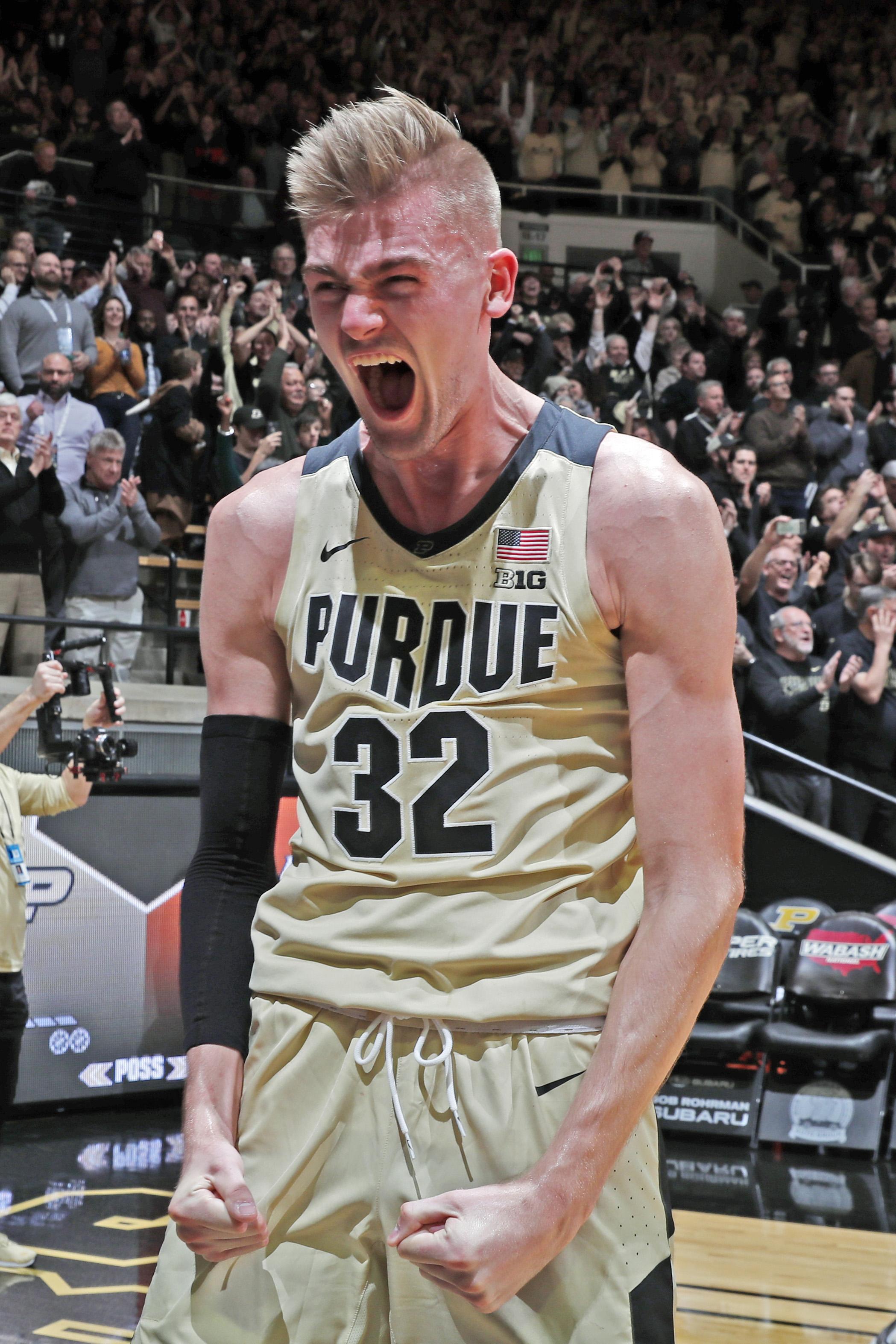 NCAA Basketball: Virginia at Purdue