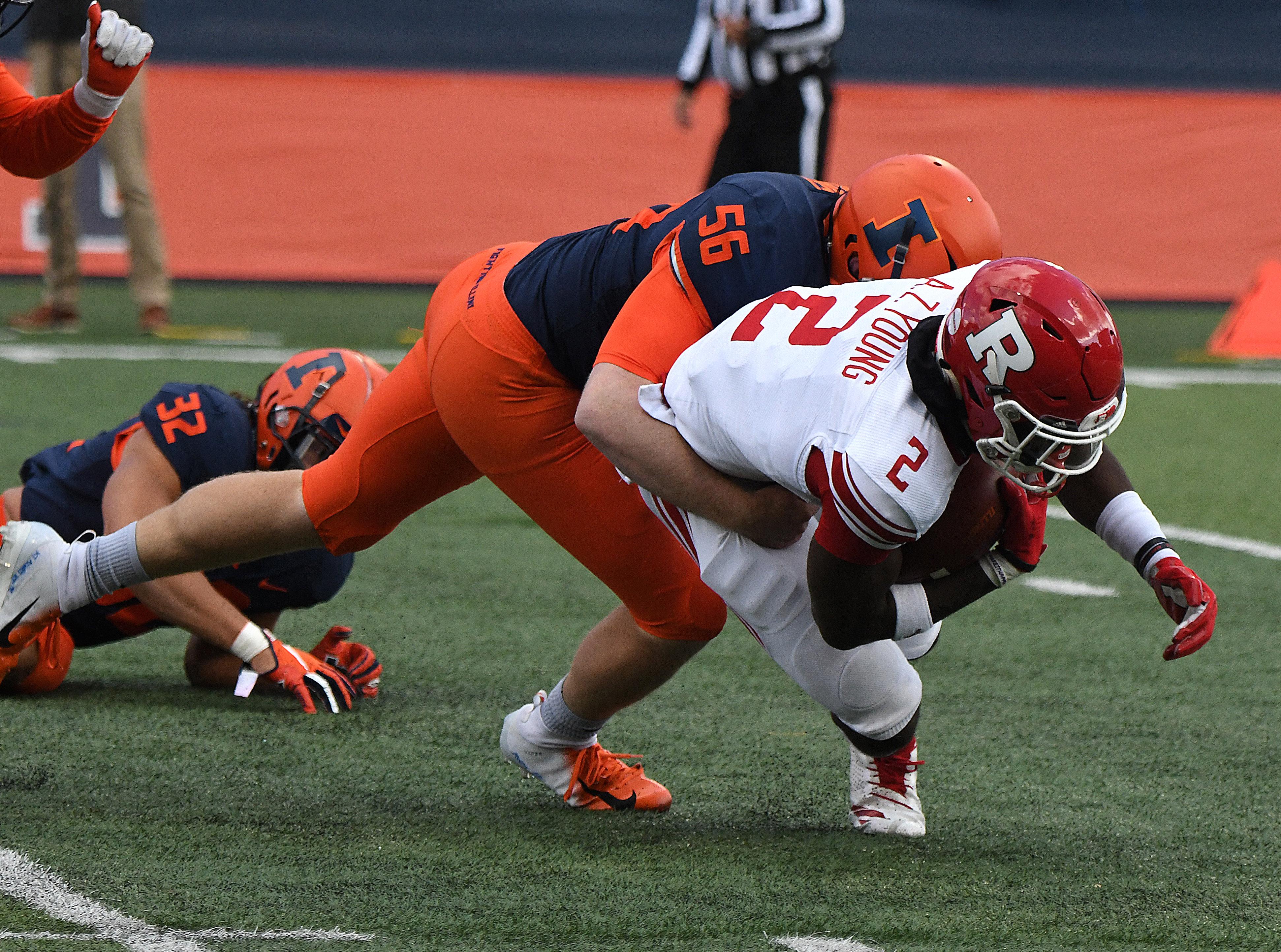 COLLEGE FOOTBALLL: NOV 02 Rutgers at Illinois