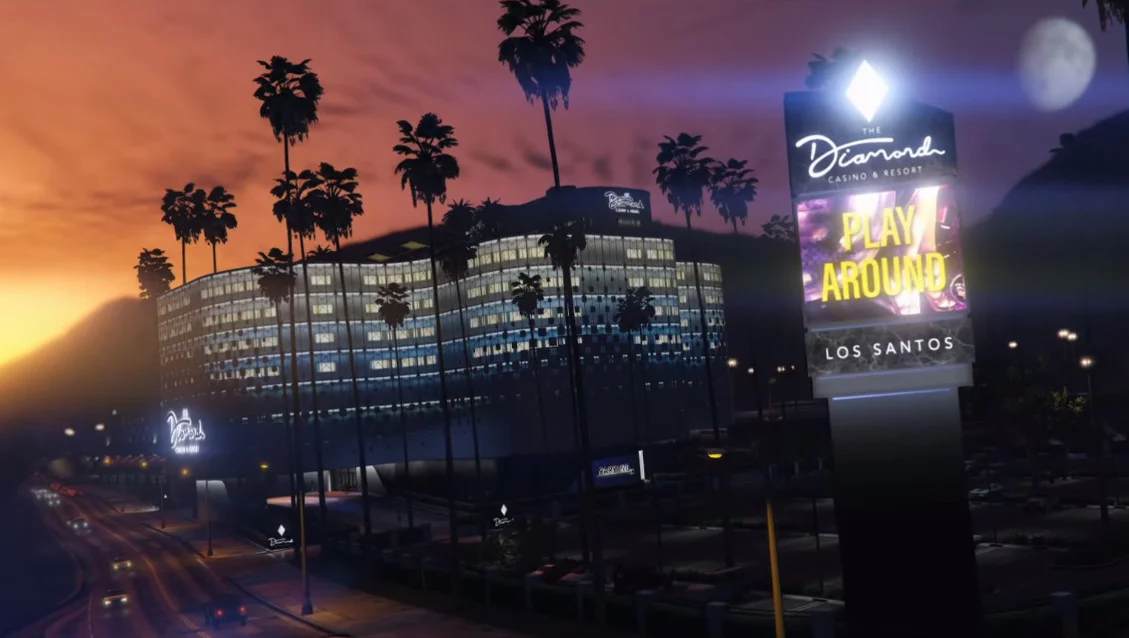 GTA Online gets a brand-new casino heist and arcade business
