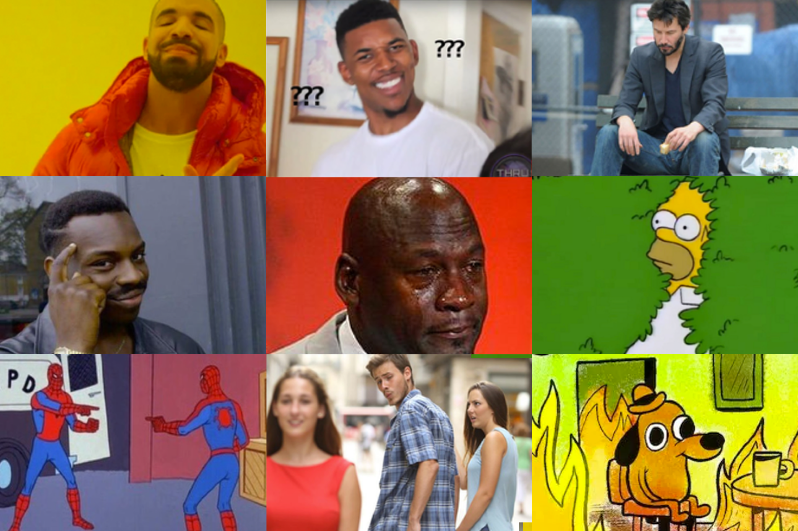 Best memes of the decade draft, because we're a sports website
