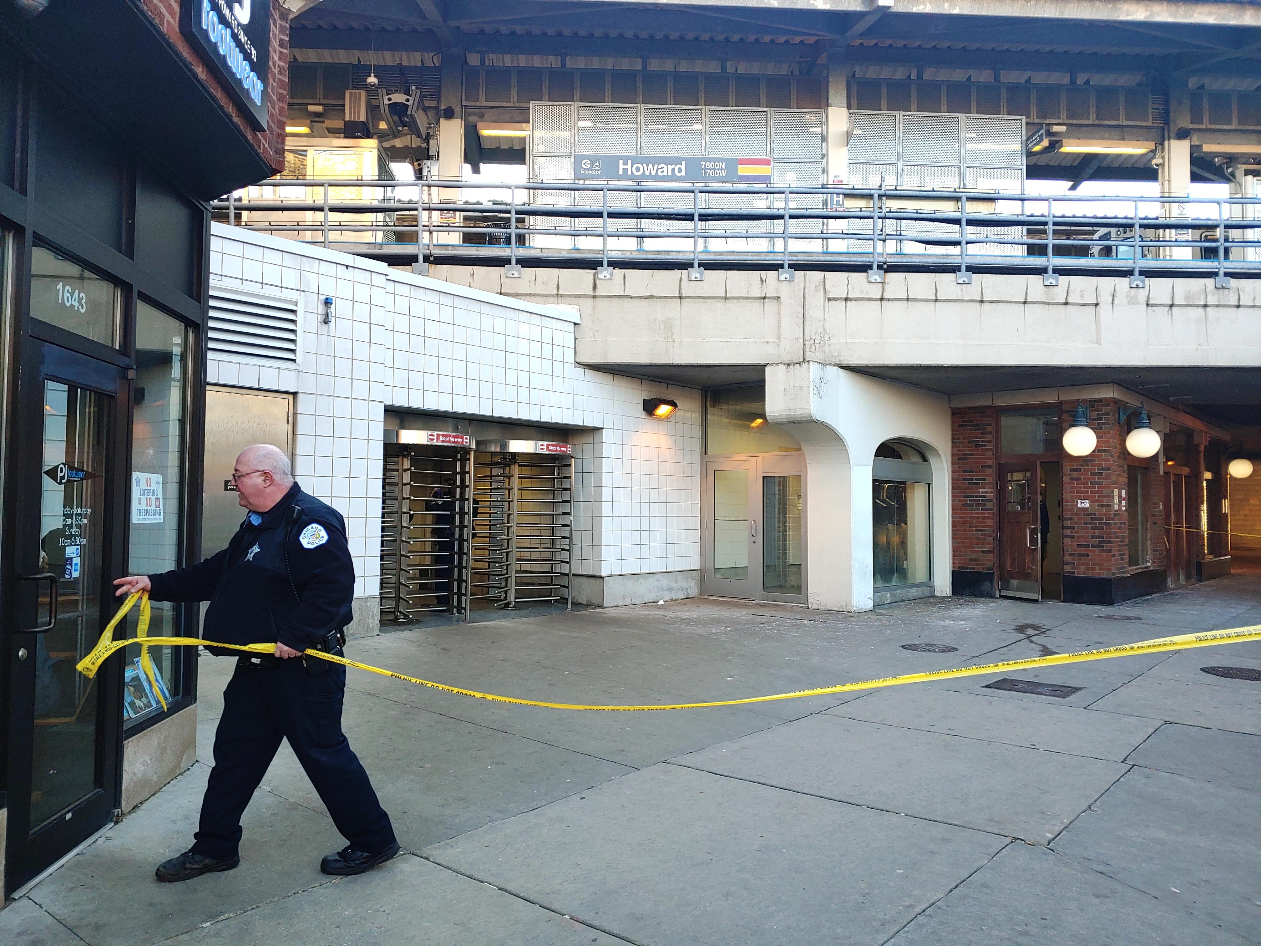 Macksantino Webb was fatally shot Dec. 3, 2019, at the CTA's Red Line station at Howard.