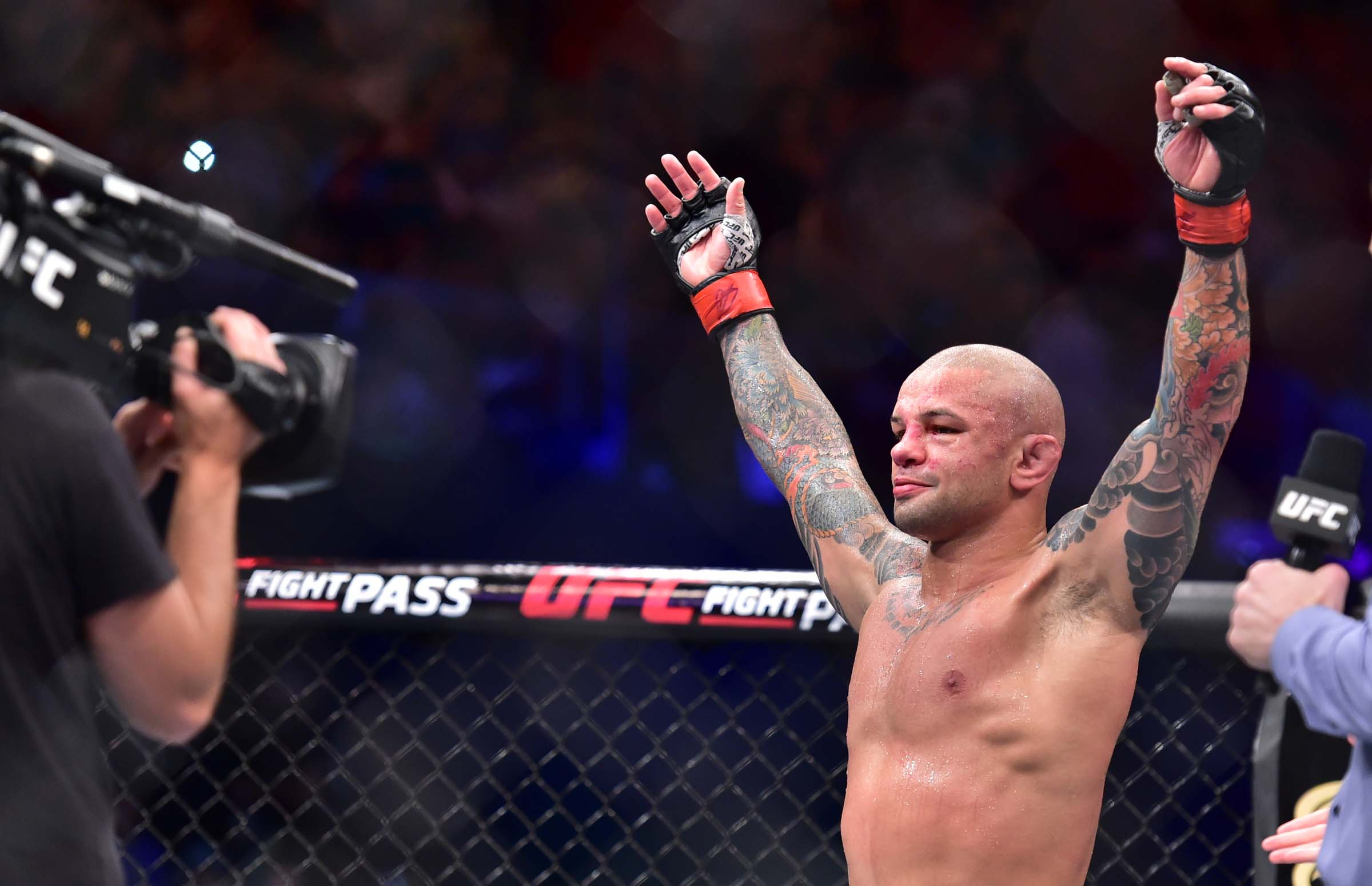 MMA: UFC Fight Night-Fortaleza-Alves vs Griffin