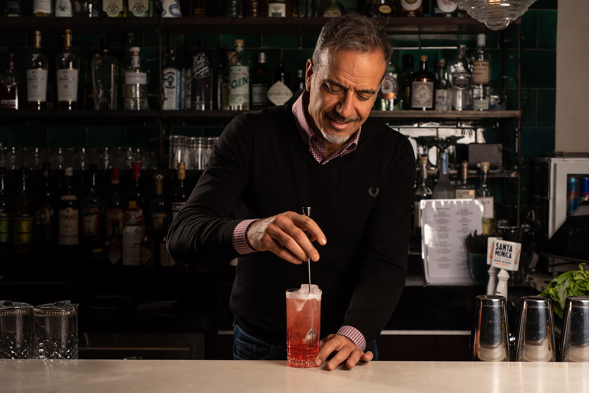 Cocktail Master Vincenzo Marianella Brings His A-Game to Santa Monica's Fia Lounge