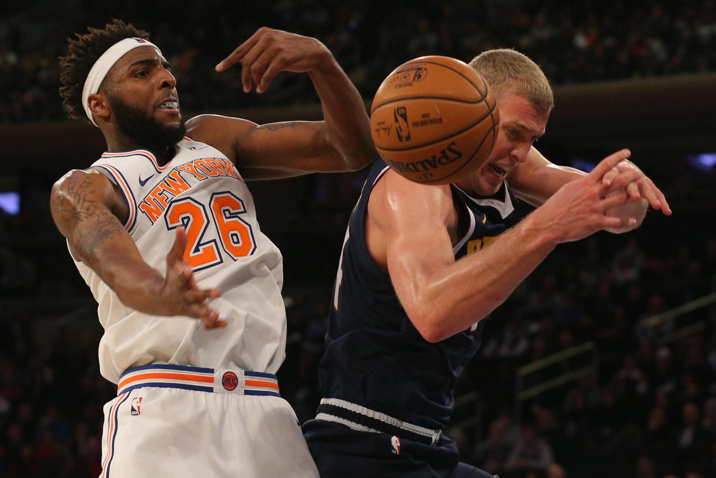 NBA: Denver Nuggets at New York Knicks