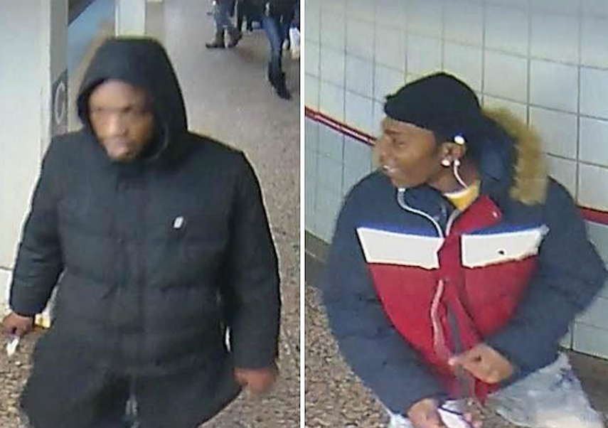 Men suspected of robbing a man at the Jackson Red Line