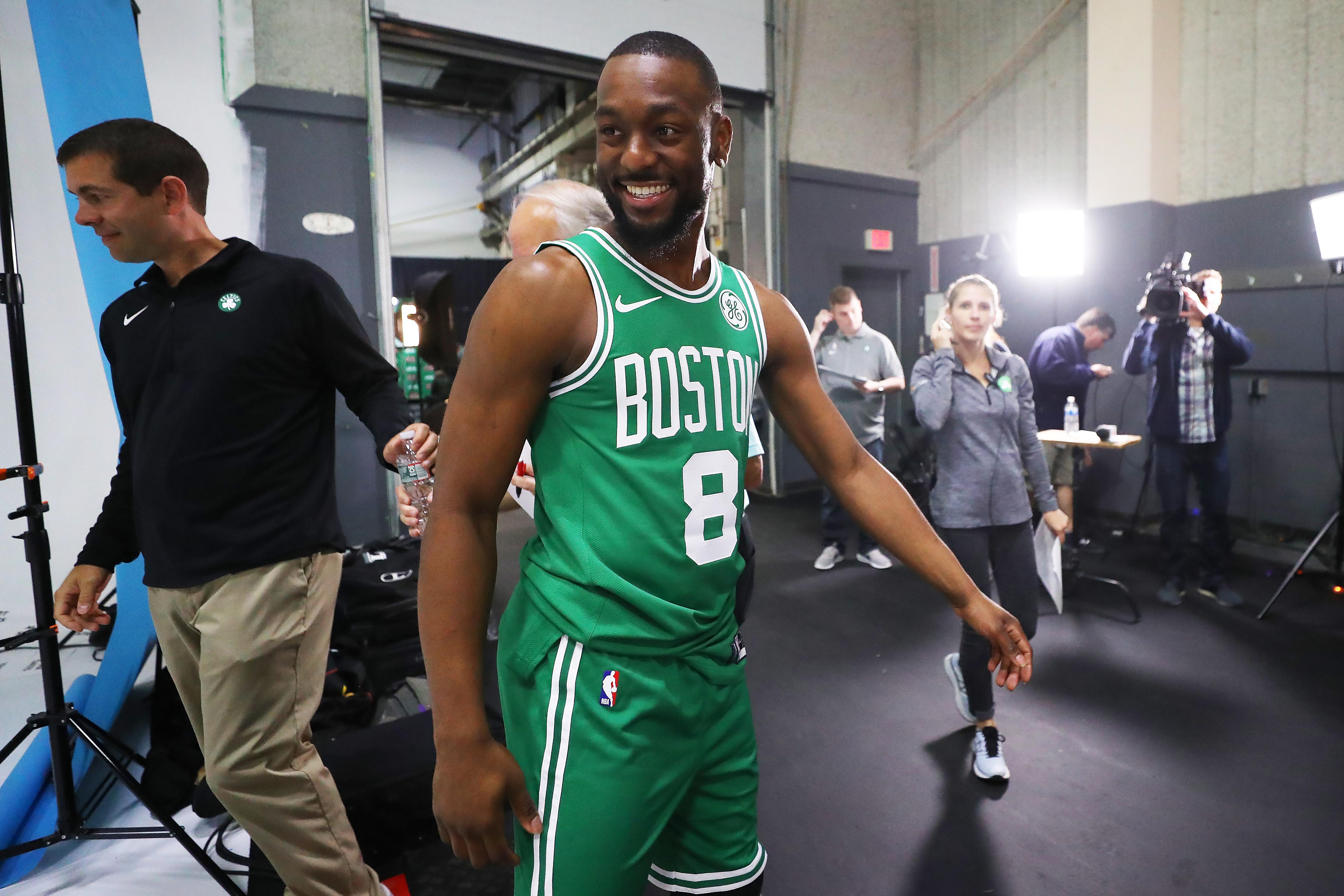 Boston Celtics Media Day