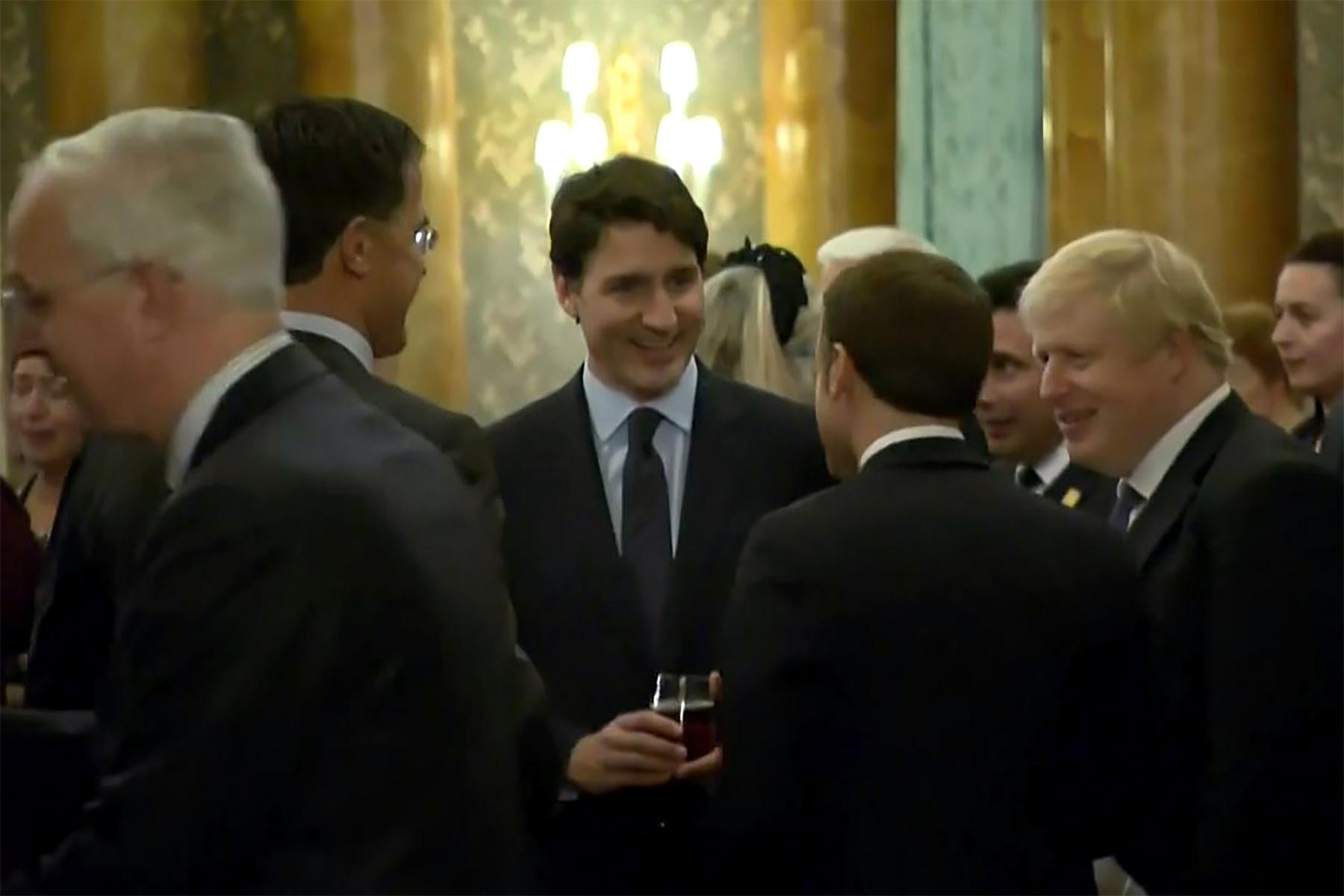 Justin Trudeau mocks Donald Trump at London NATO summit