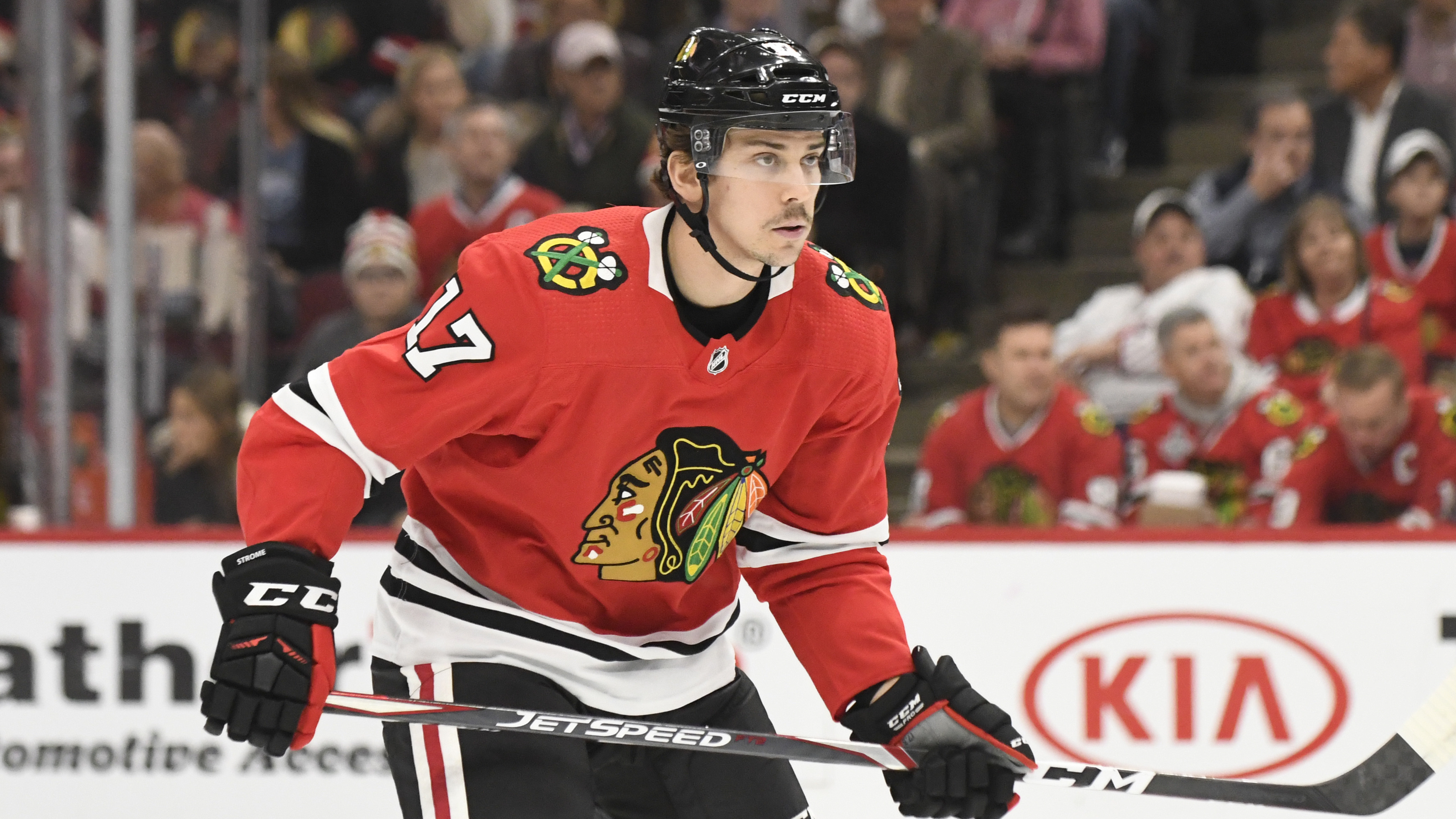 Dylan Strome returned from his concussion Thursday, but the Blackhawks still have two others out with their own concussions.