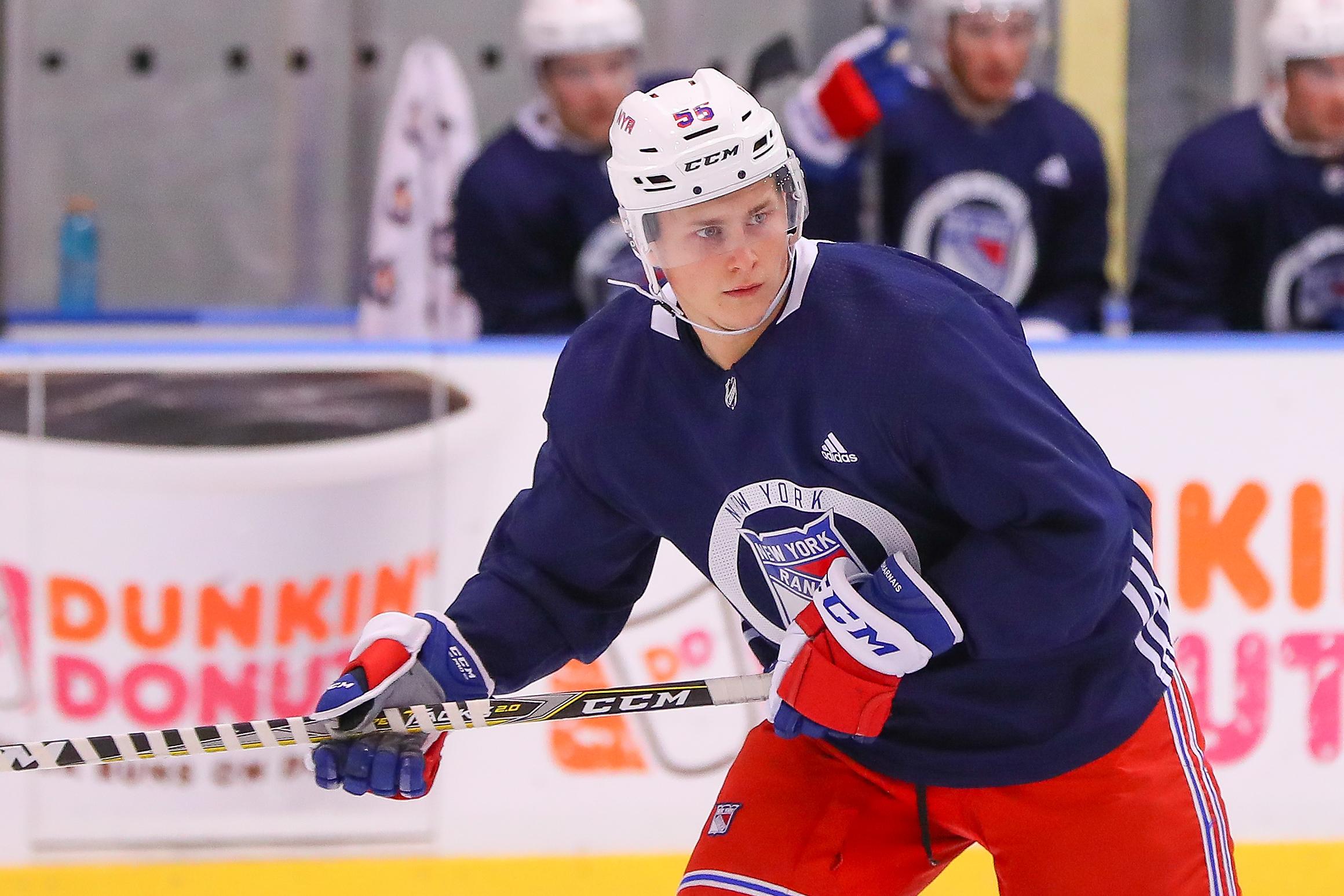 NHL: JUN 29 Rangers Prospect Development Camp