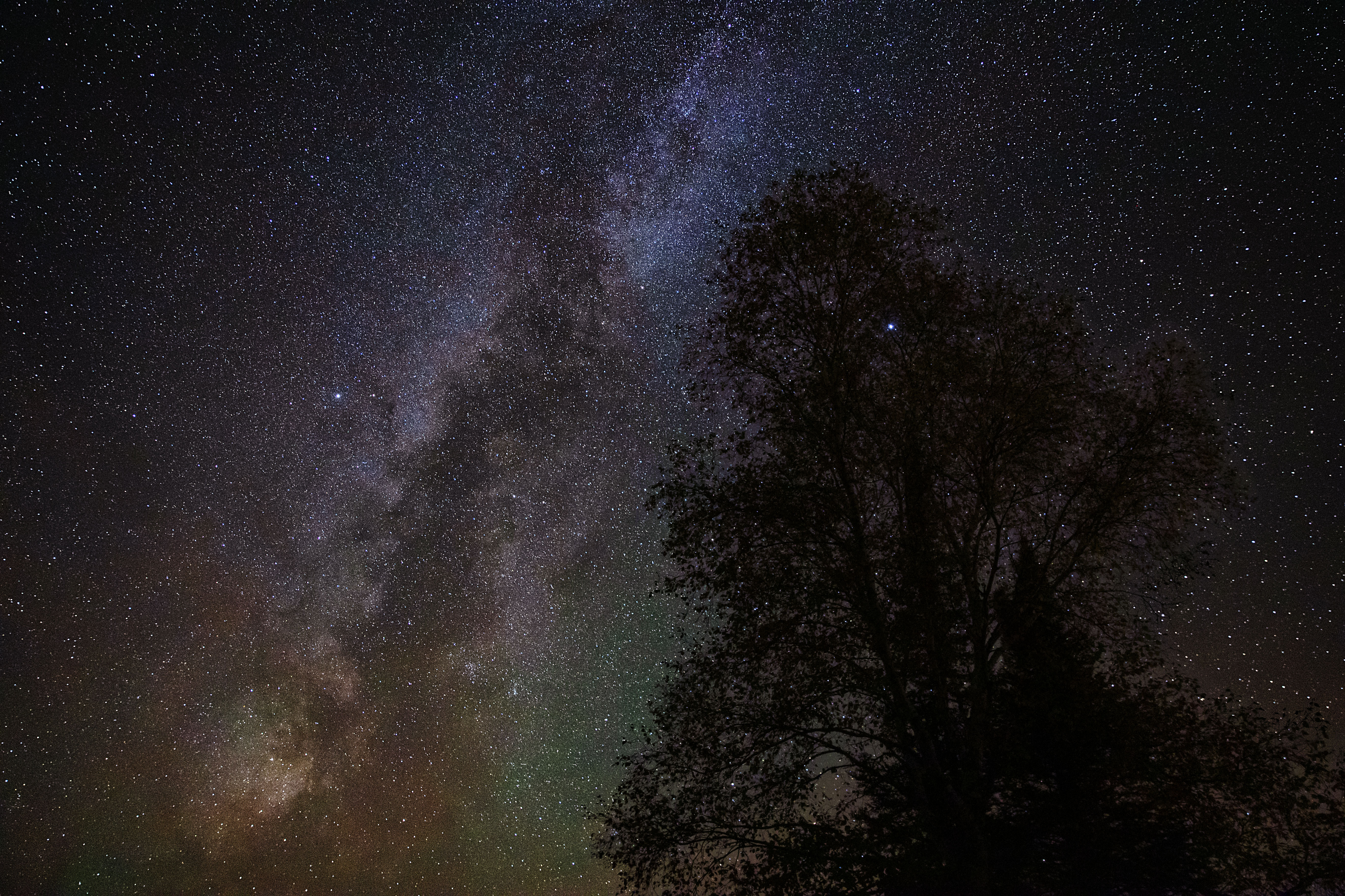 Milky Way over Minnesota