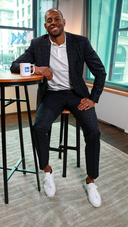 Andre Iguodala Visits LinkedIn