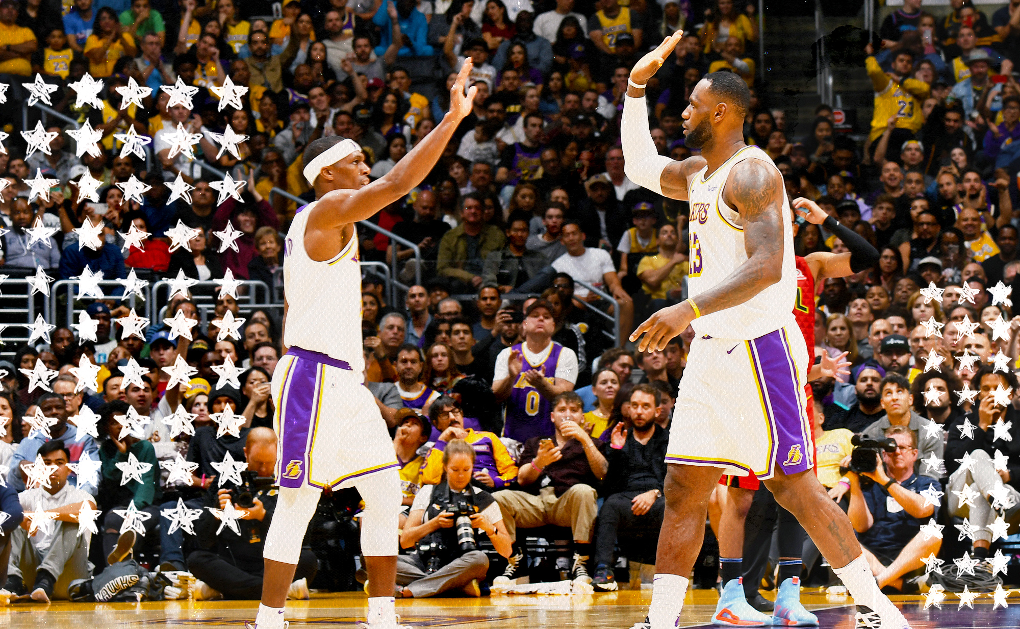 LeBron James and Rajon Rondo are a match made in basketball IQ heaven