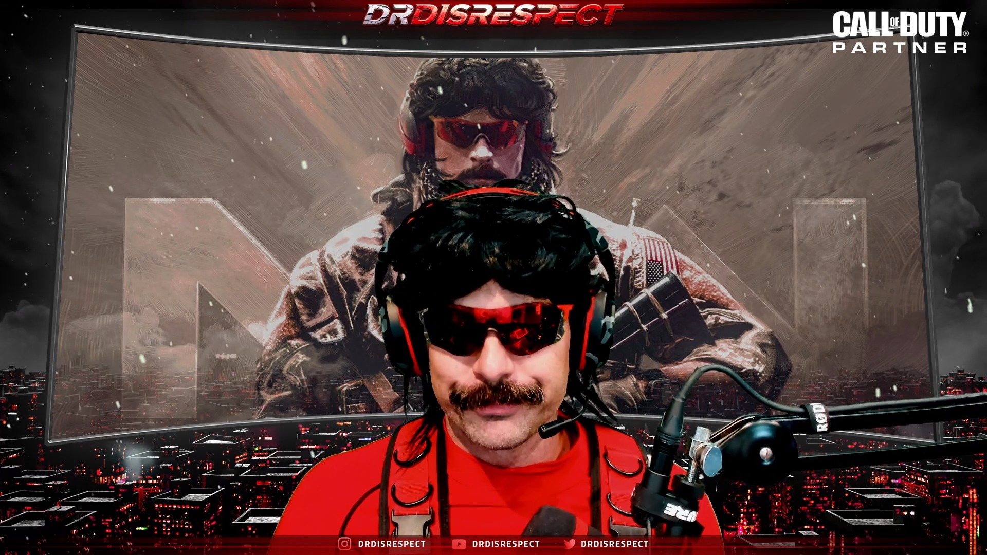 Dr. Disrespect teaming with Skybound Entertainment for potential TV show