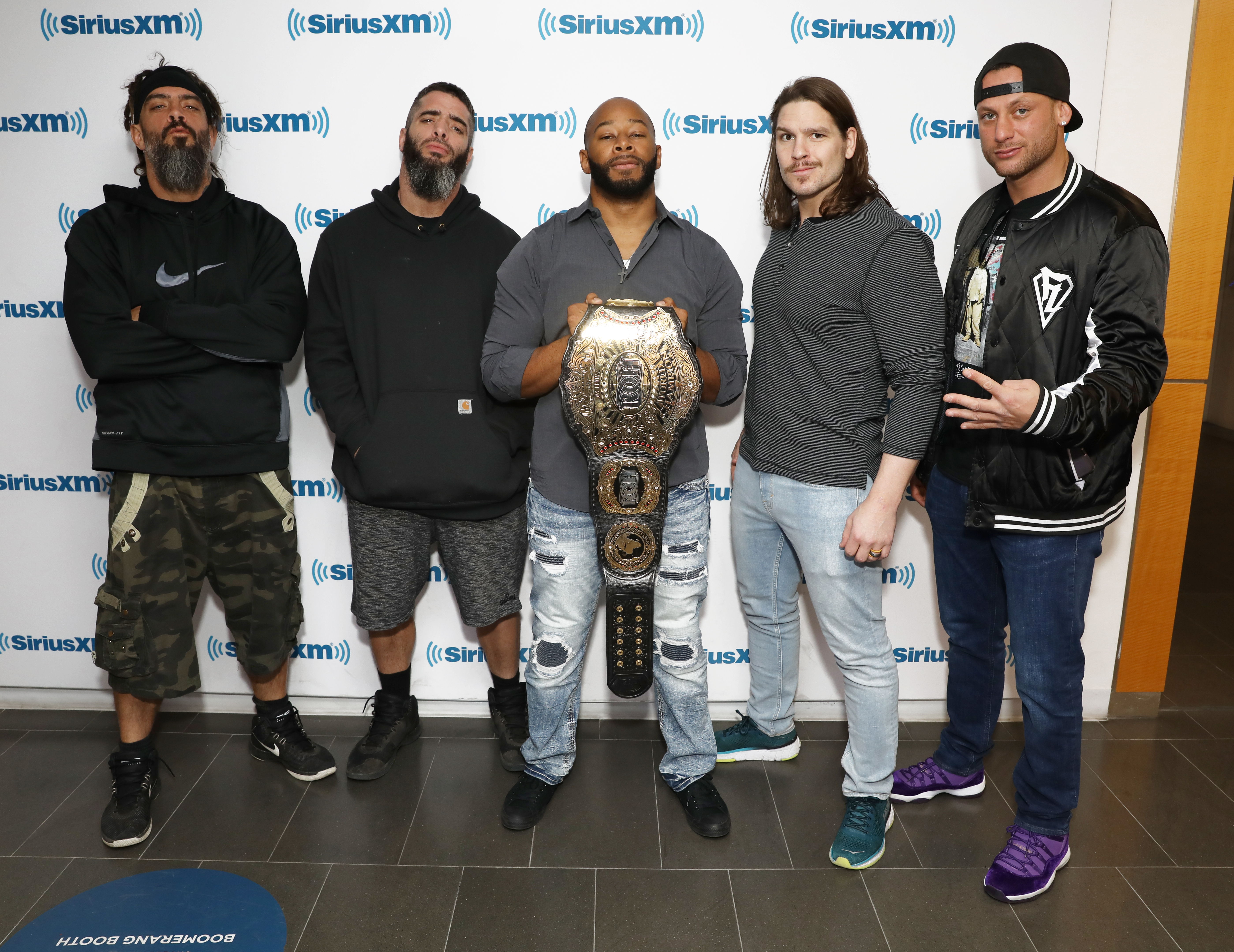 Celebrities Visit SiriusXM - April 4, 2019