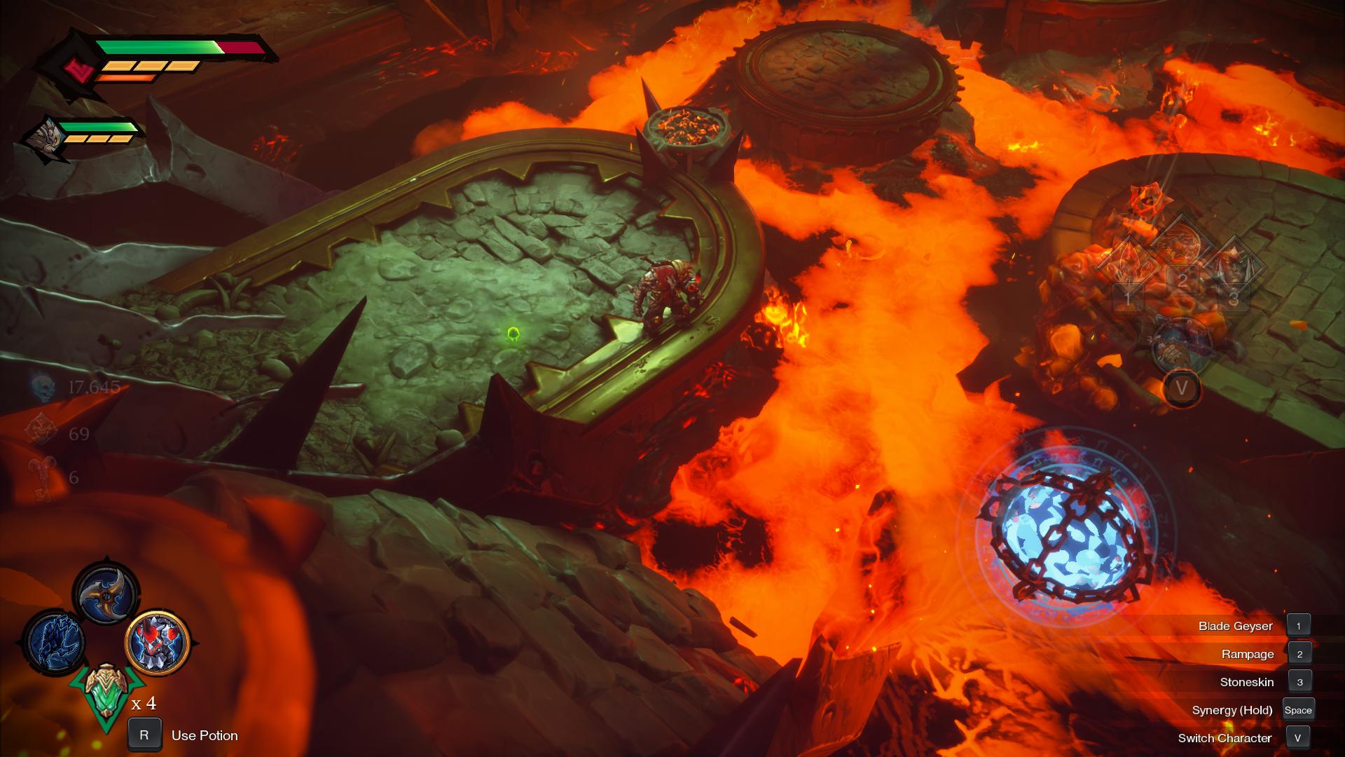 Darksiders Genesis Slag Pit