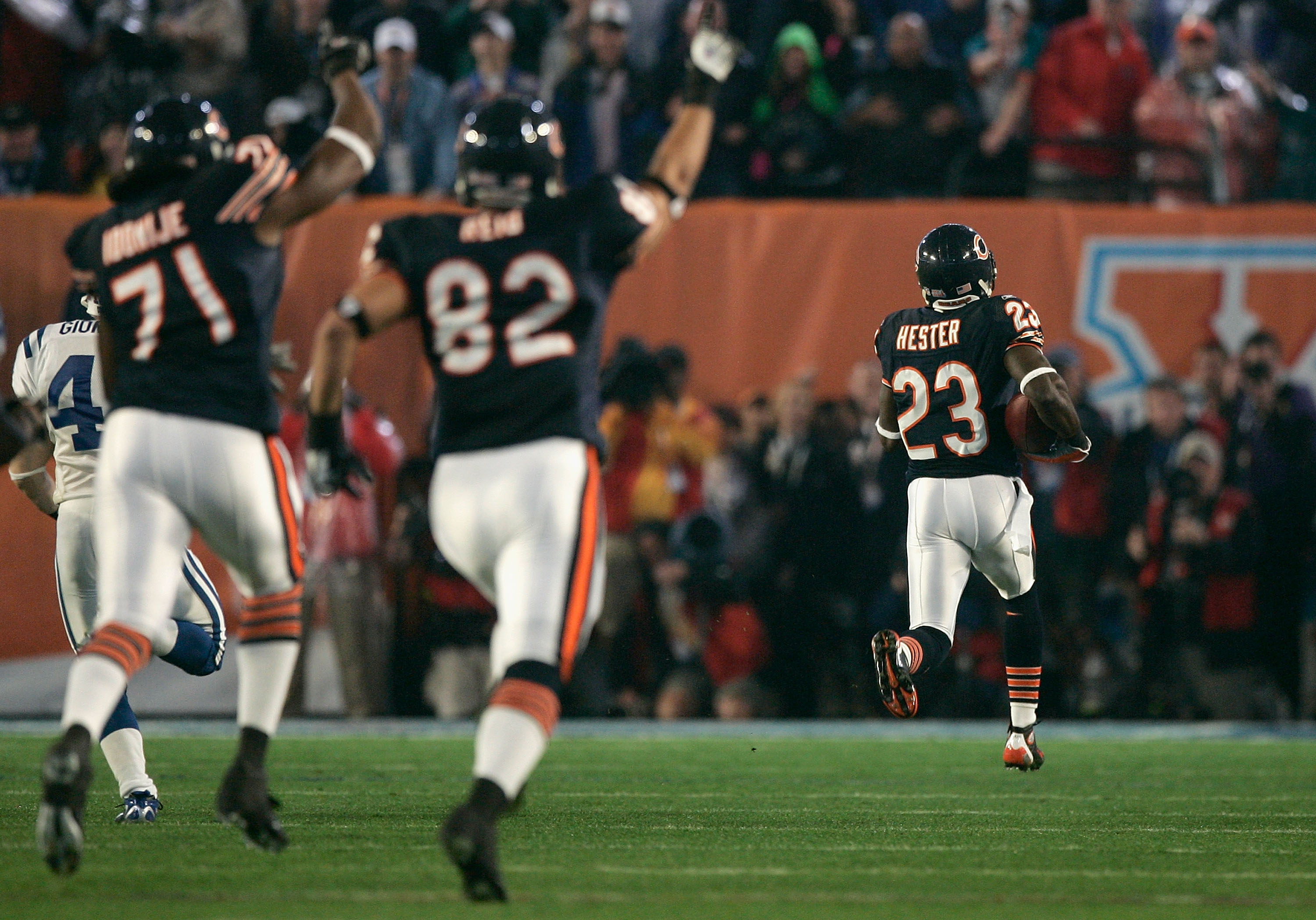 Super Bowl XLI: Indianapolis Colts v Chicago Bears