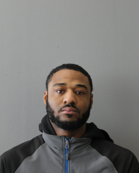 Dahveed Morris Jr. arrest photo
