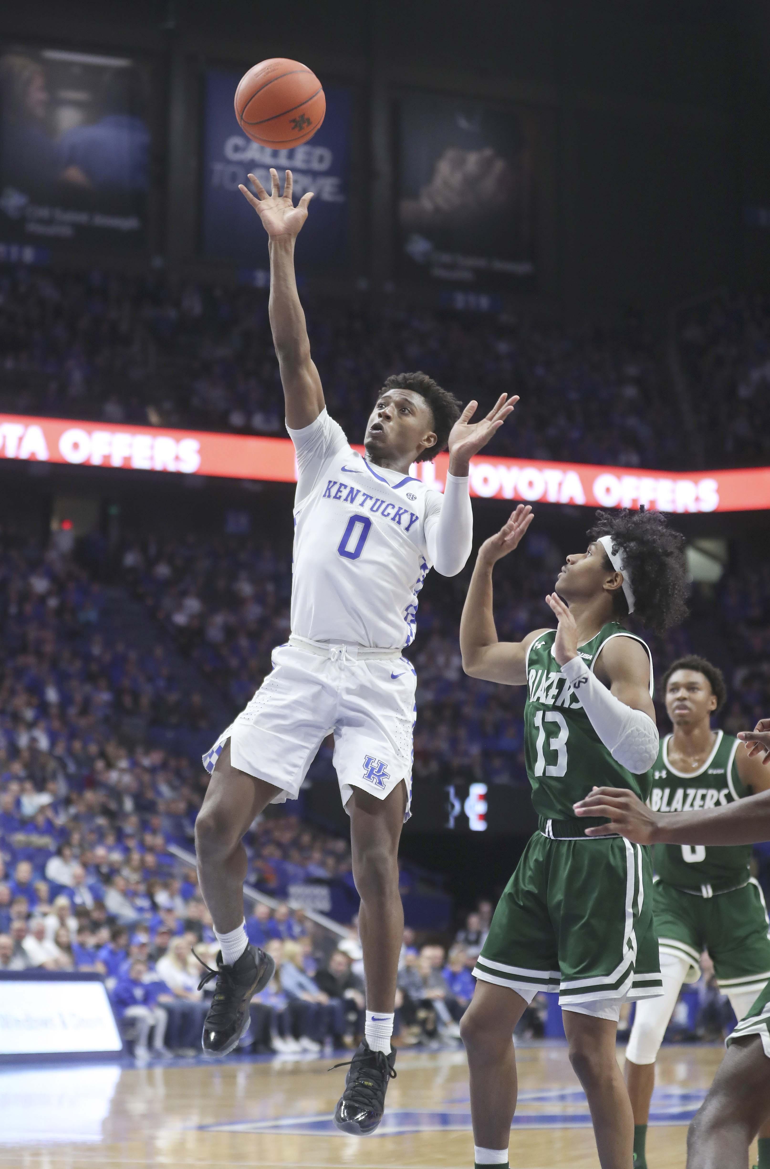 NCAA Basketball: UAB at Kentucky