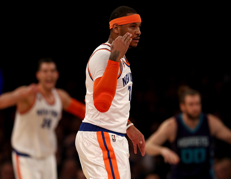 Charlotte Hornets v New York Knicks