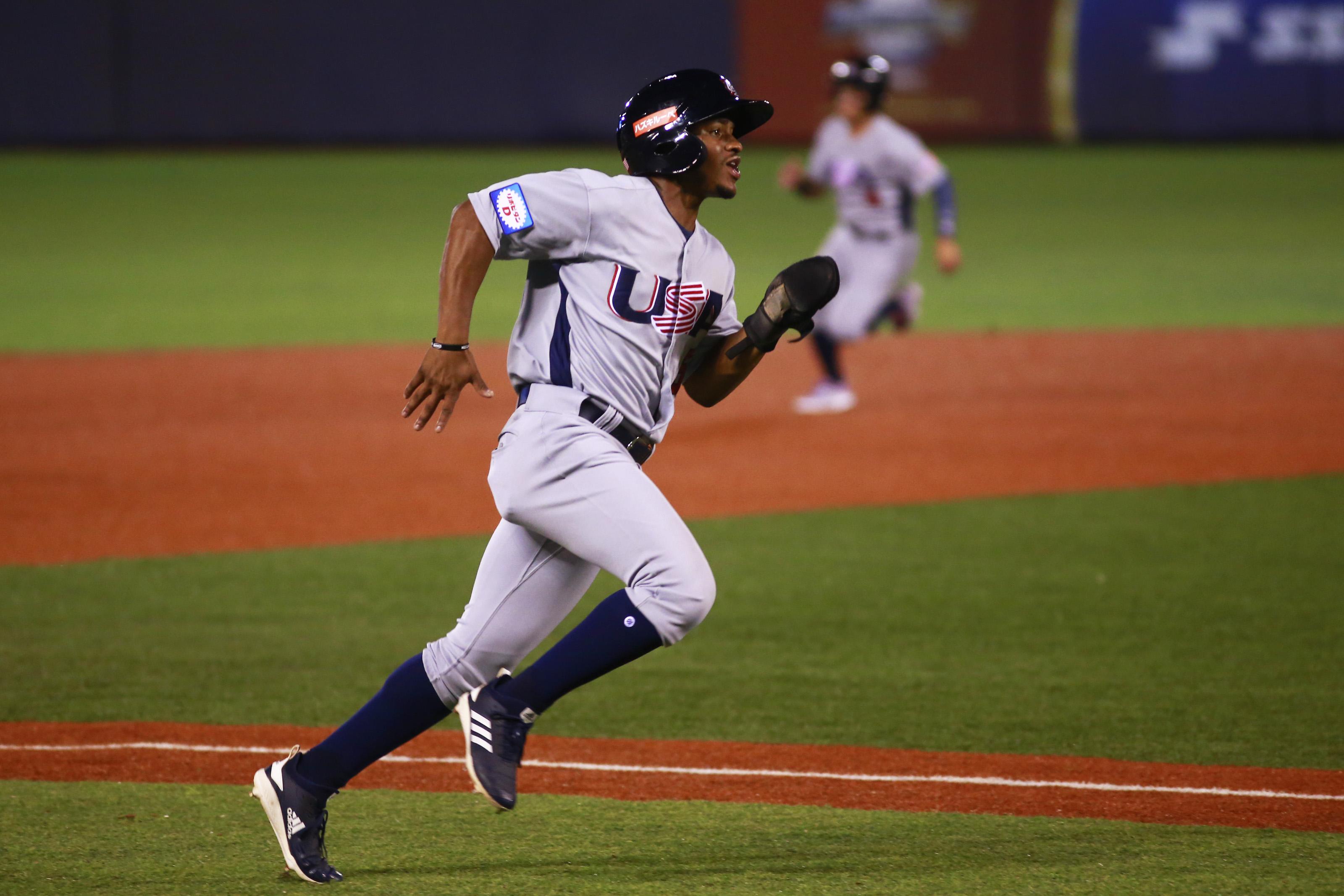 WBSC Premier 12: USA V Dominican Republic