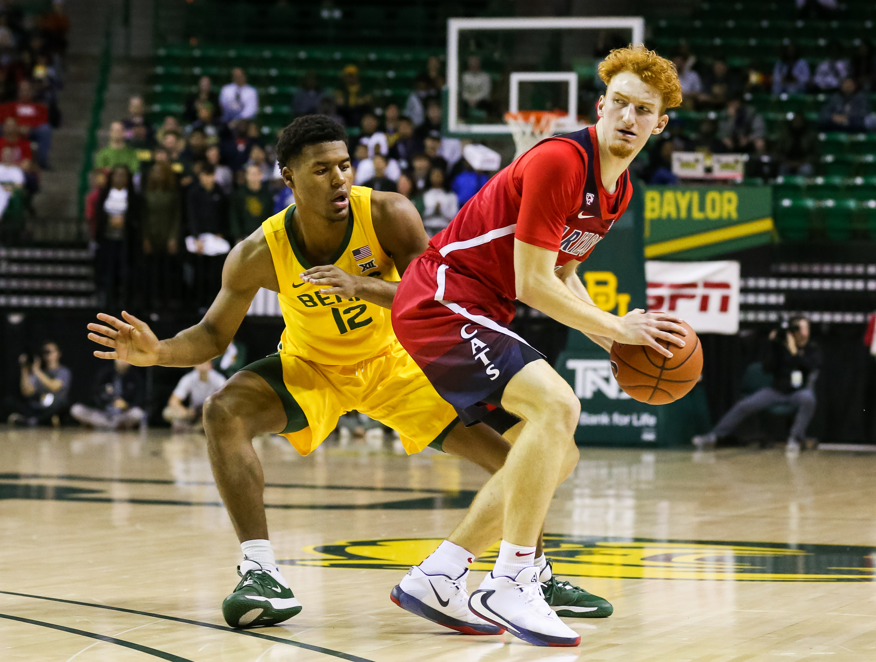 NCAA Basketball: Arizona at Baylor