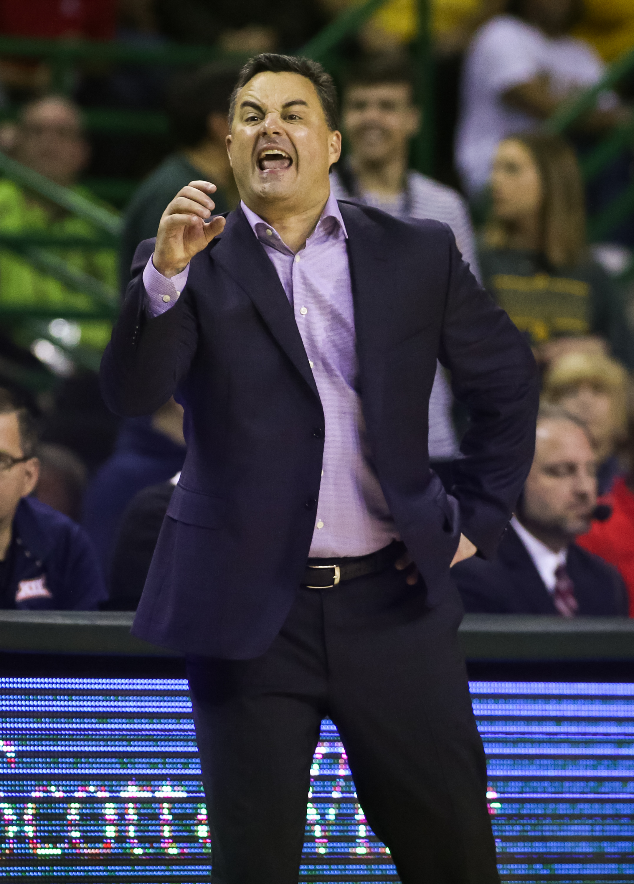 arizona-wildcats-sean-miller-postgame-interview-baylor-bears-college-basketball-shooting-pac12-2019