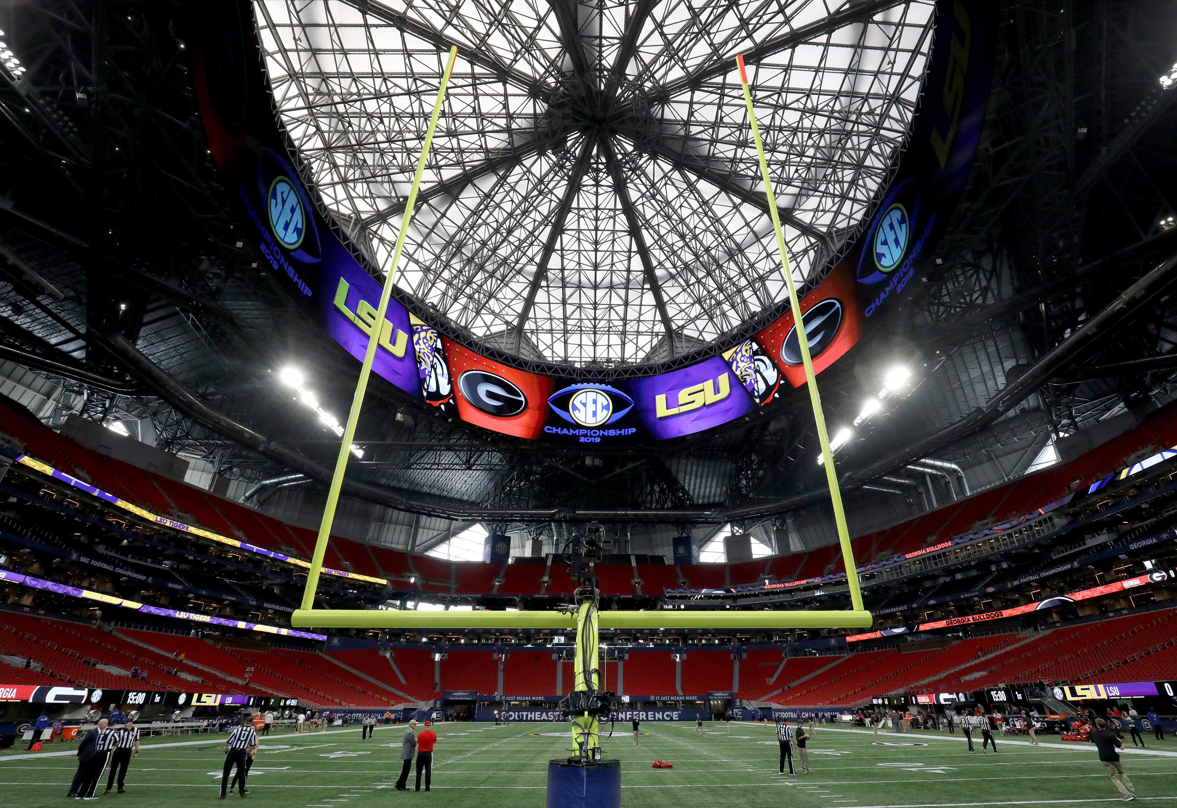 NCAA Football: SEC Championship-Georgia vs Louisiana State