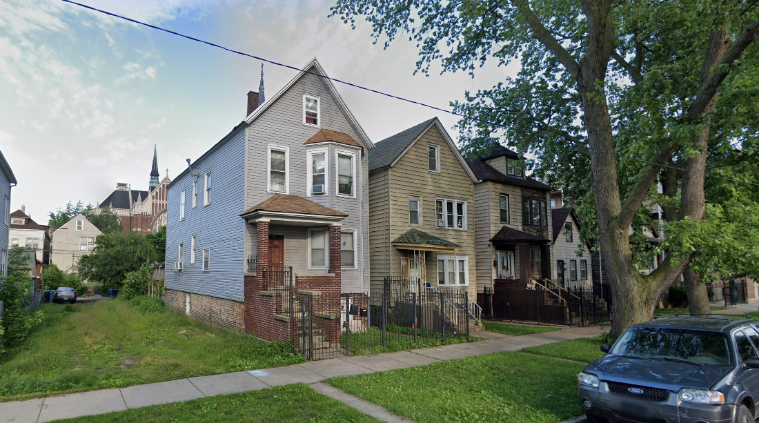 The 8200 block of South Coles Avenue