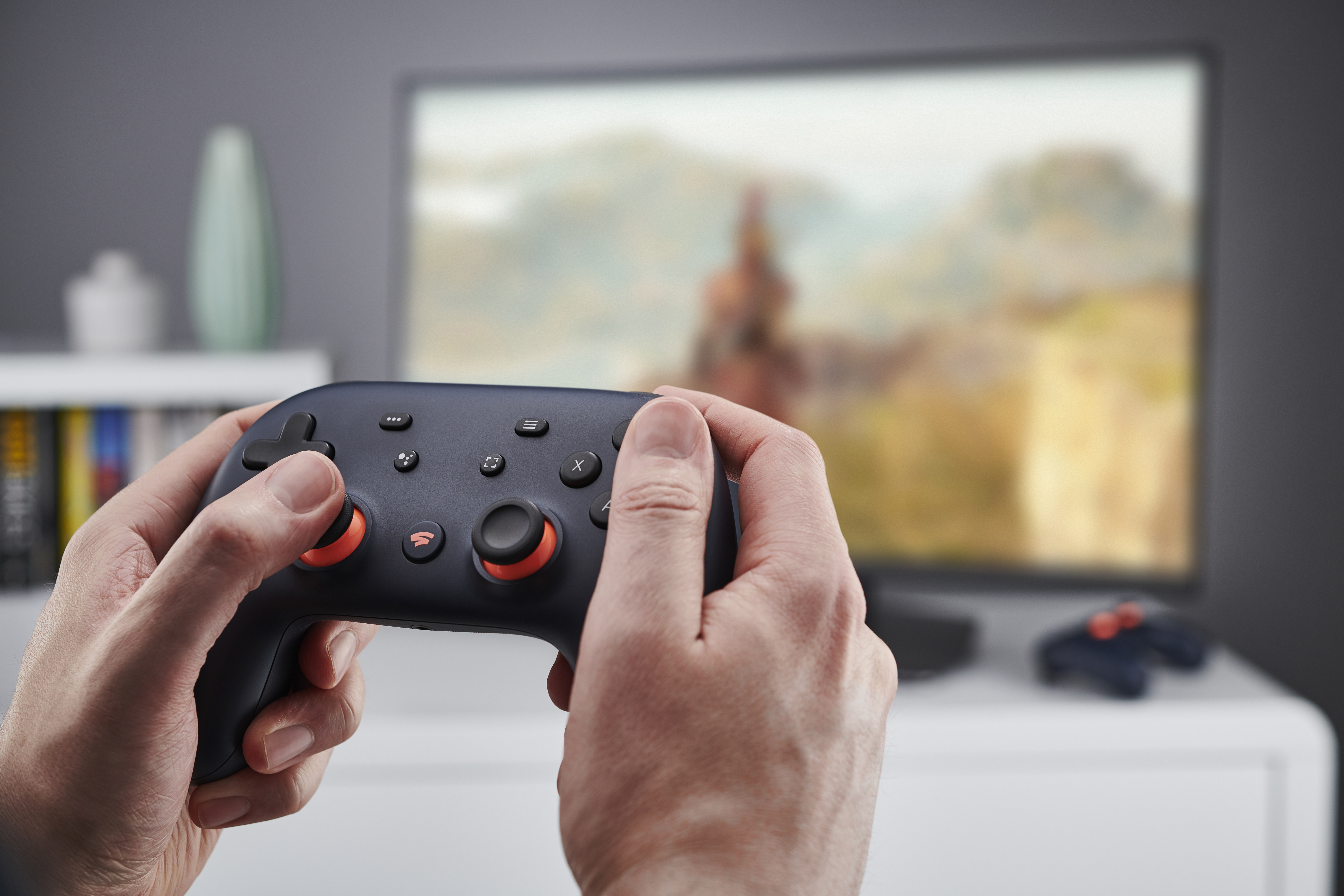 Google Stadia Video Game Controller