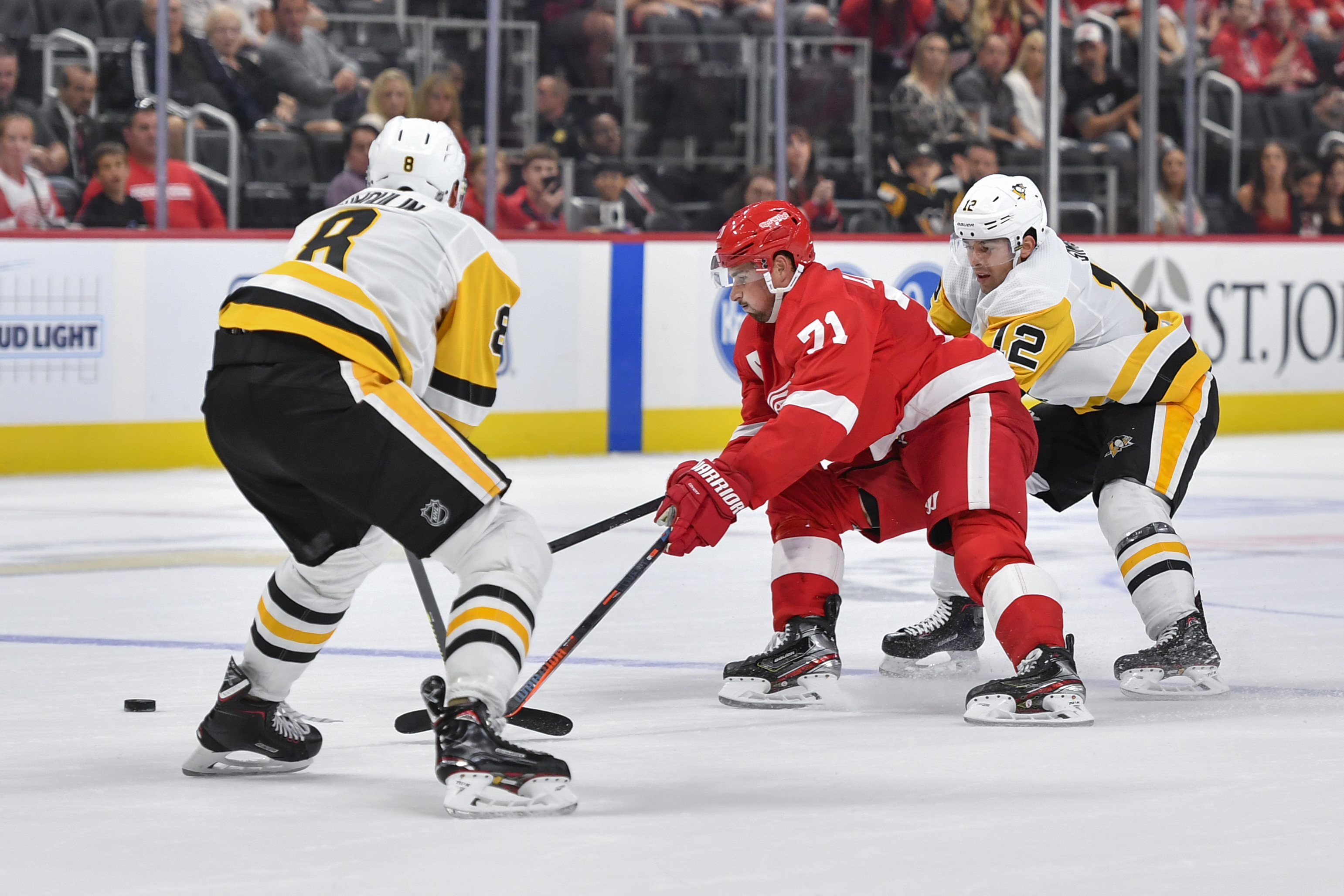 NHL: SEP 22 Preseason - Penguins at Red Wings