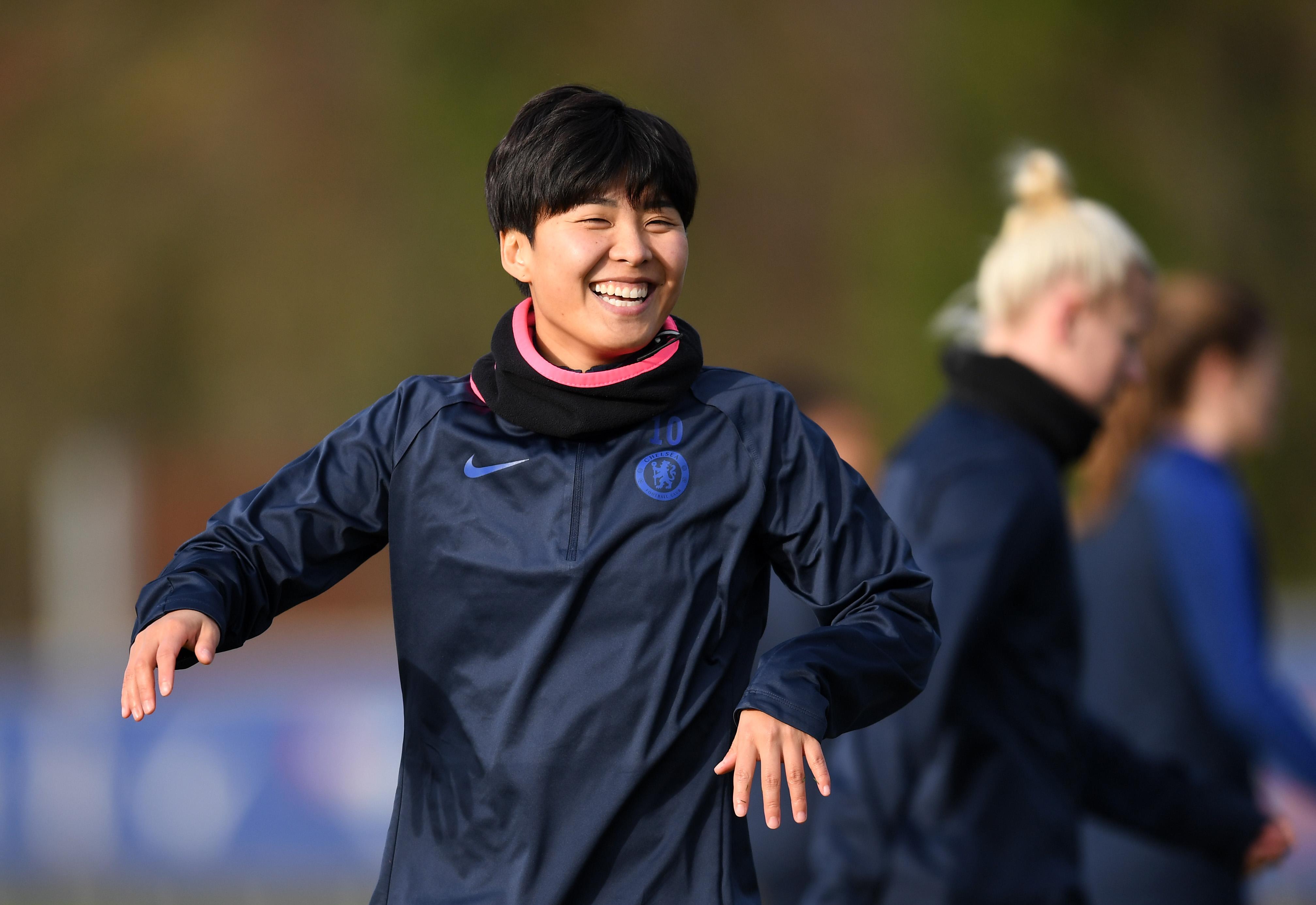 Chelsea Women Training Session
