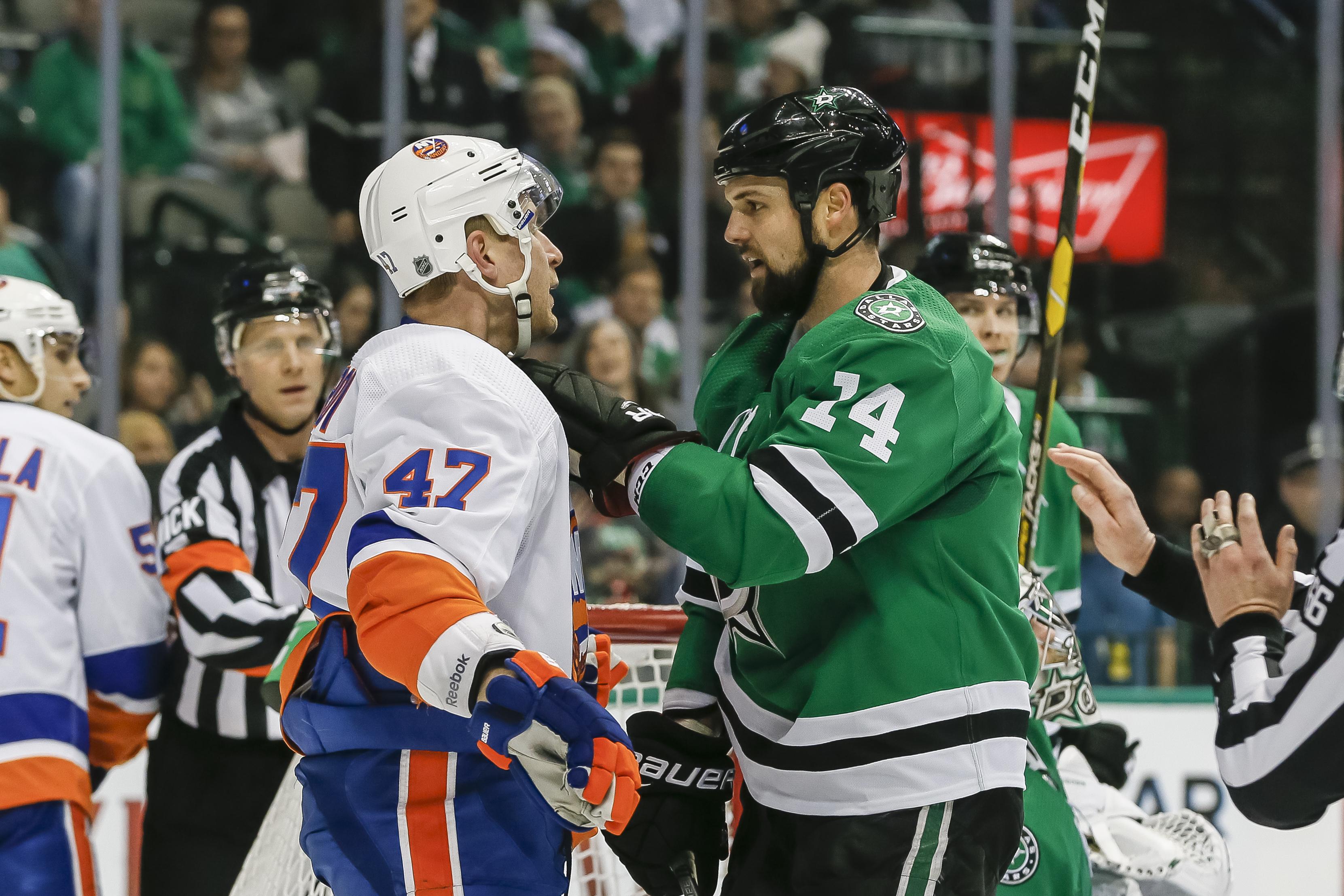 NHL: DEC 23 Islanders at Stars