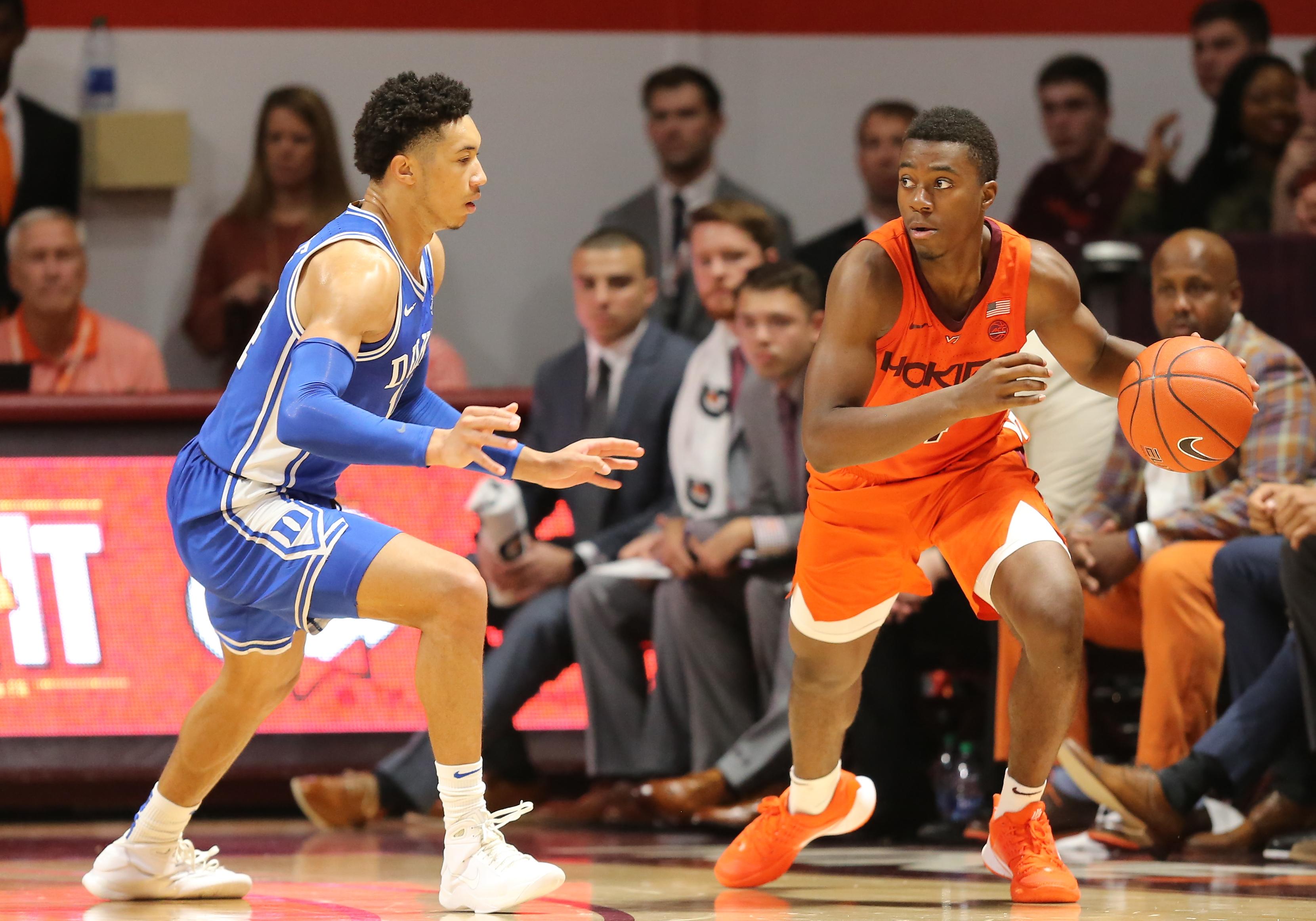 COLLEGE BASKETBALL: DEC 06 Duke at Virginia Tech