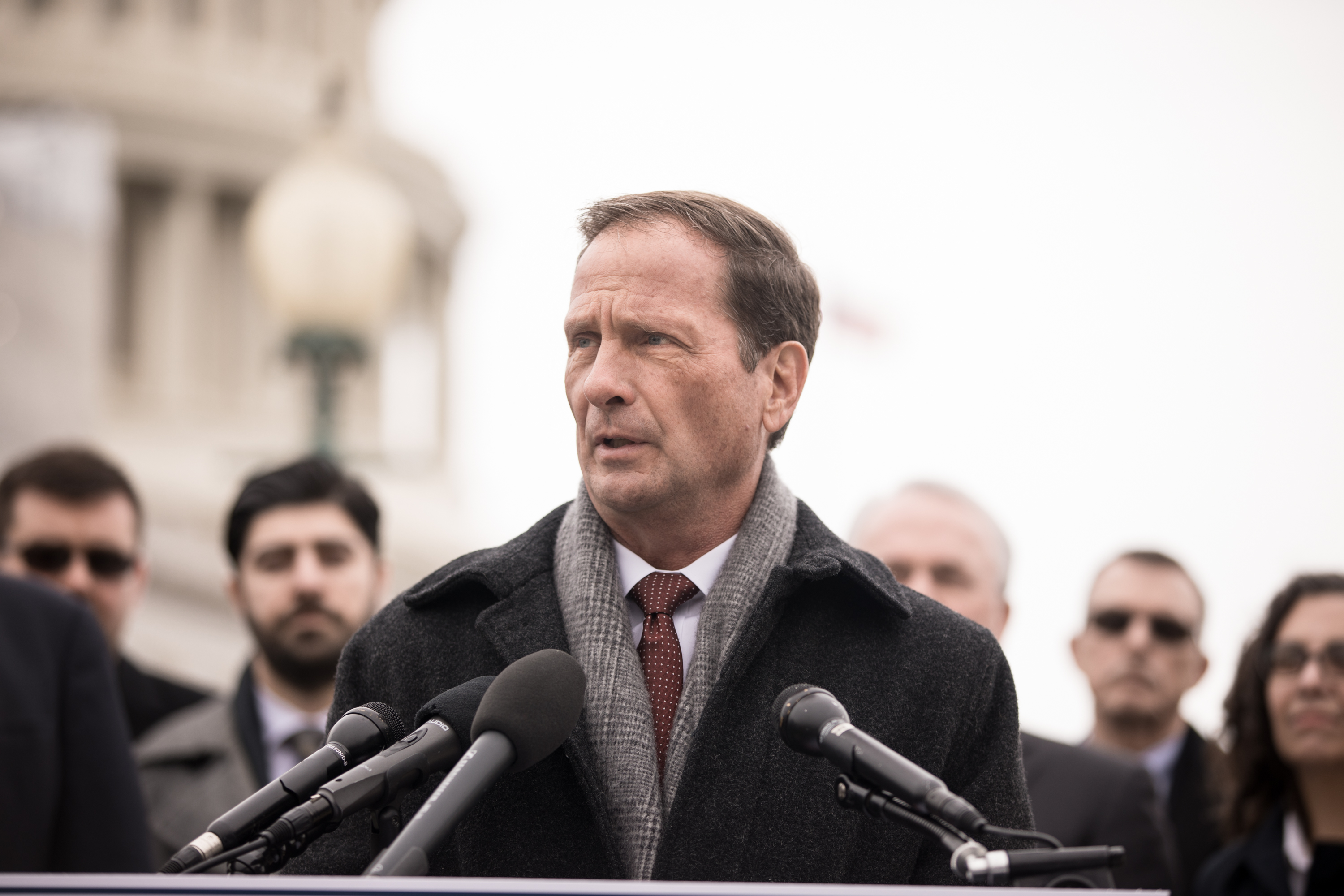 Congressman Chris Stewart, R-Utah, introduces his latest legislation, the Fairness for All Act, which aims to harmonize religious freedom and LGBT rights, during a press conference at the U.S. Capitol in Washington, D.C., on Friday, Dec. 6, 2019.
