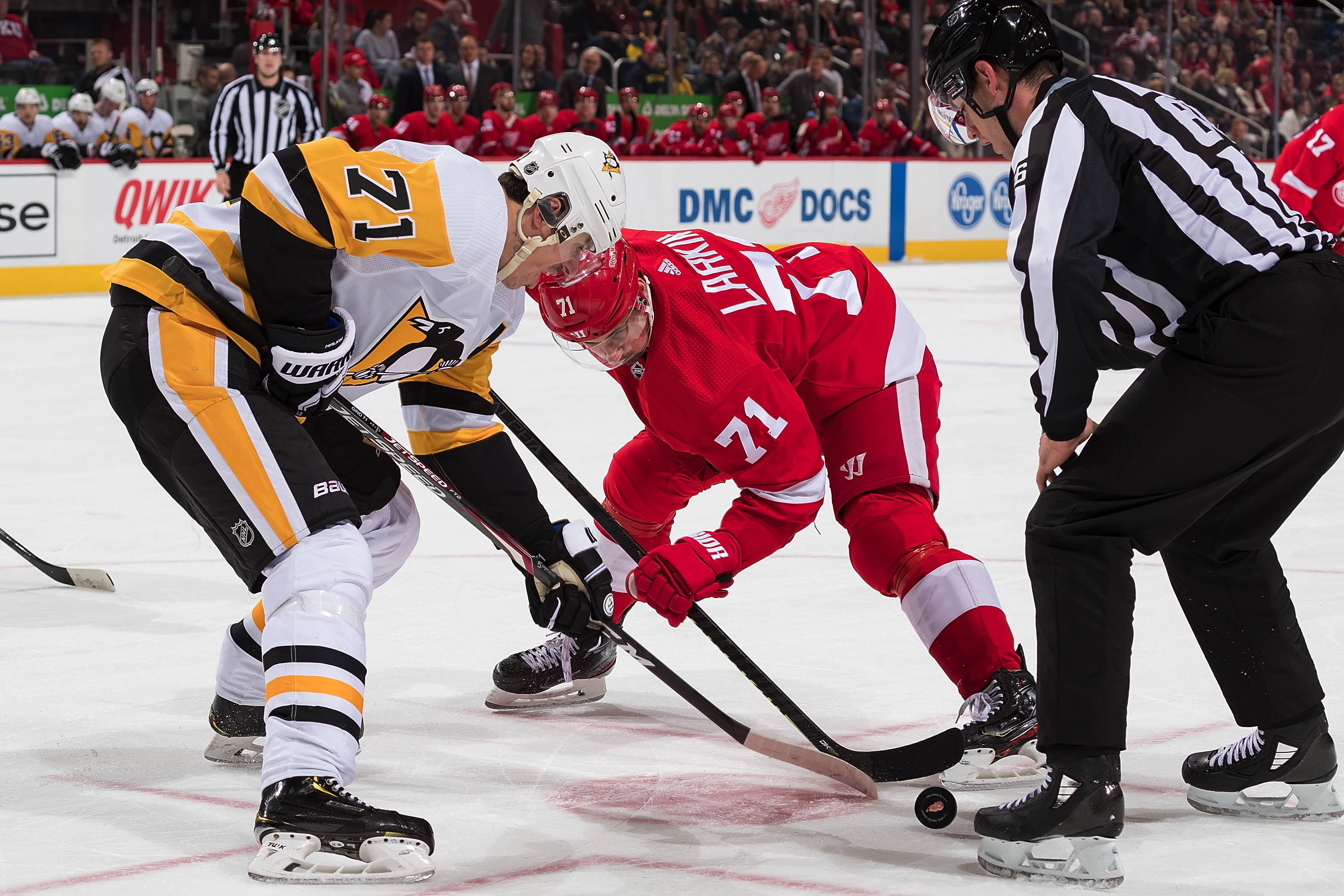 Pittsburgh Penguins v Detroit Red Wings