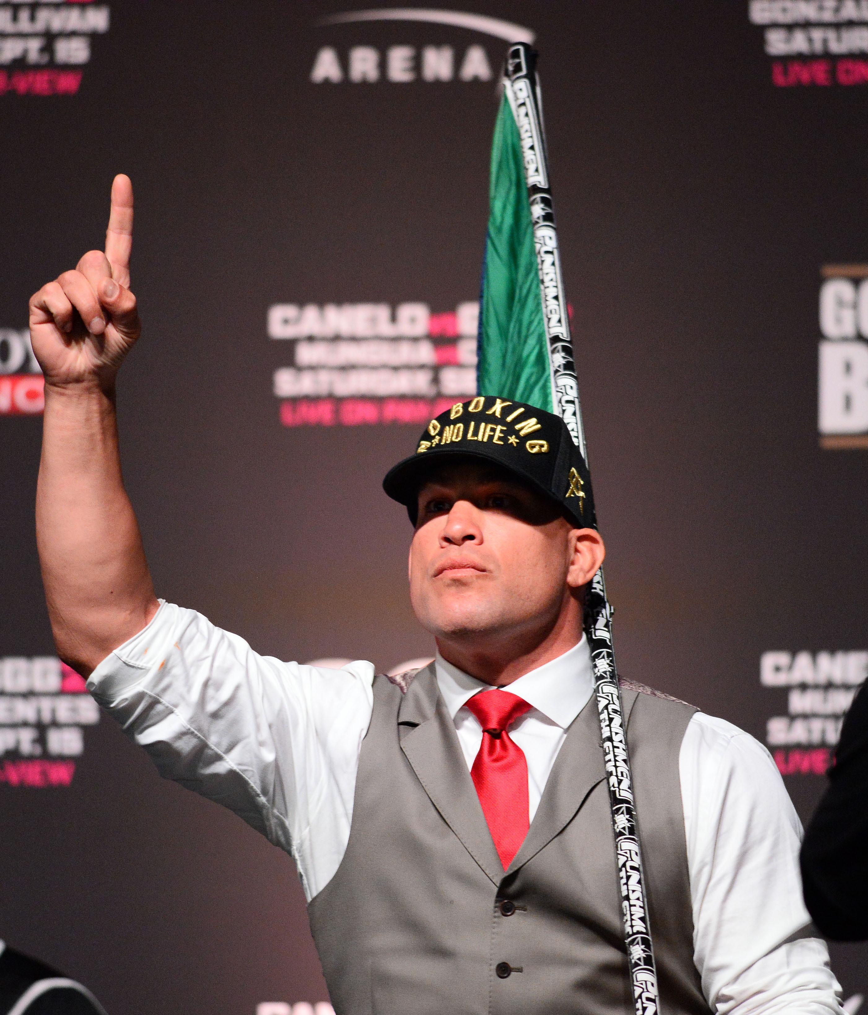 Boxing: Canelo vs GGG 2 - Weigh Ins