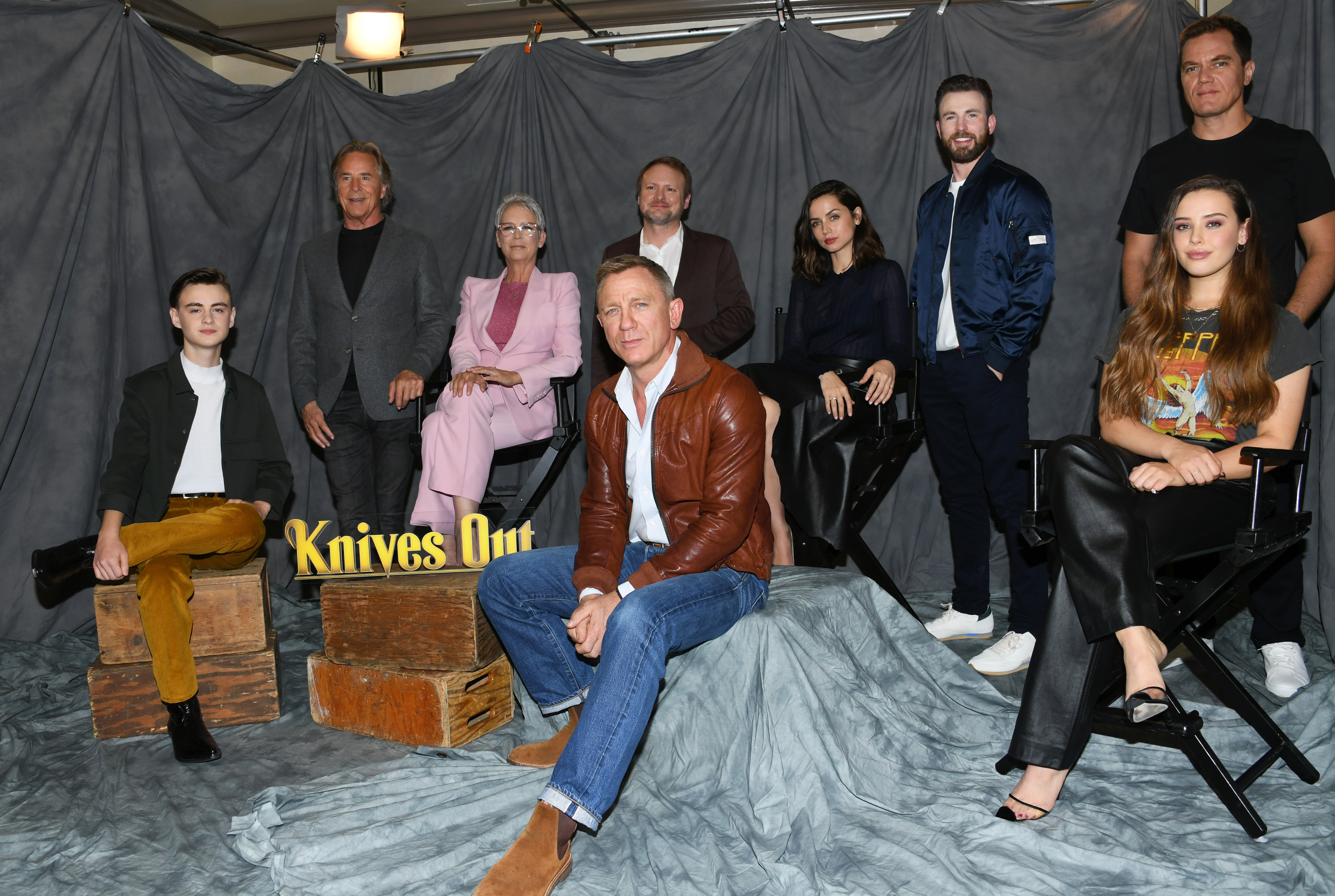 """Photocall For Lionsgate's """"Knives Out"""""""