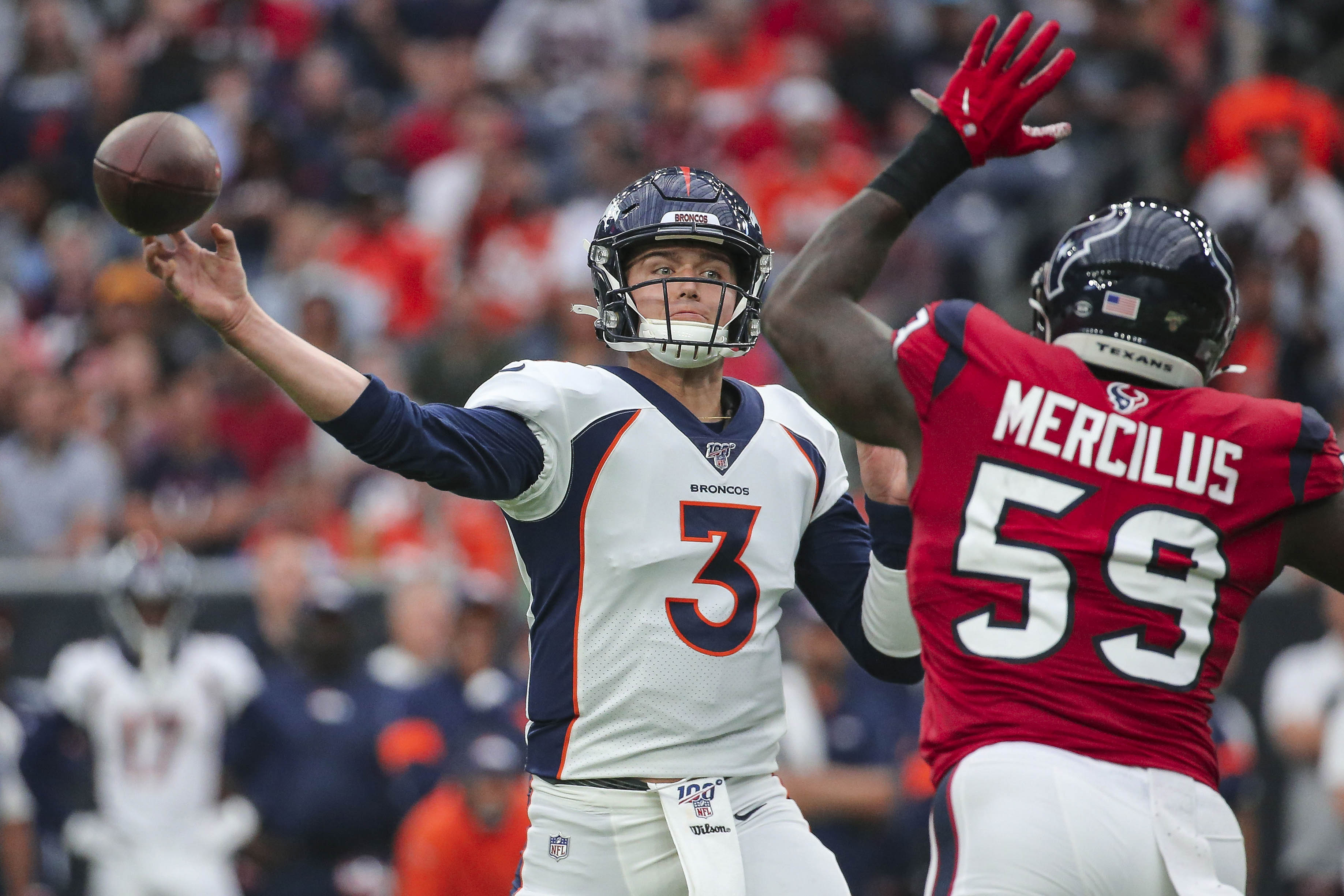 How the Broncos could build a 2020 Super Bowl contender around Drew Lock.
