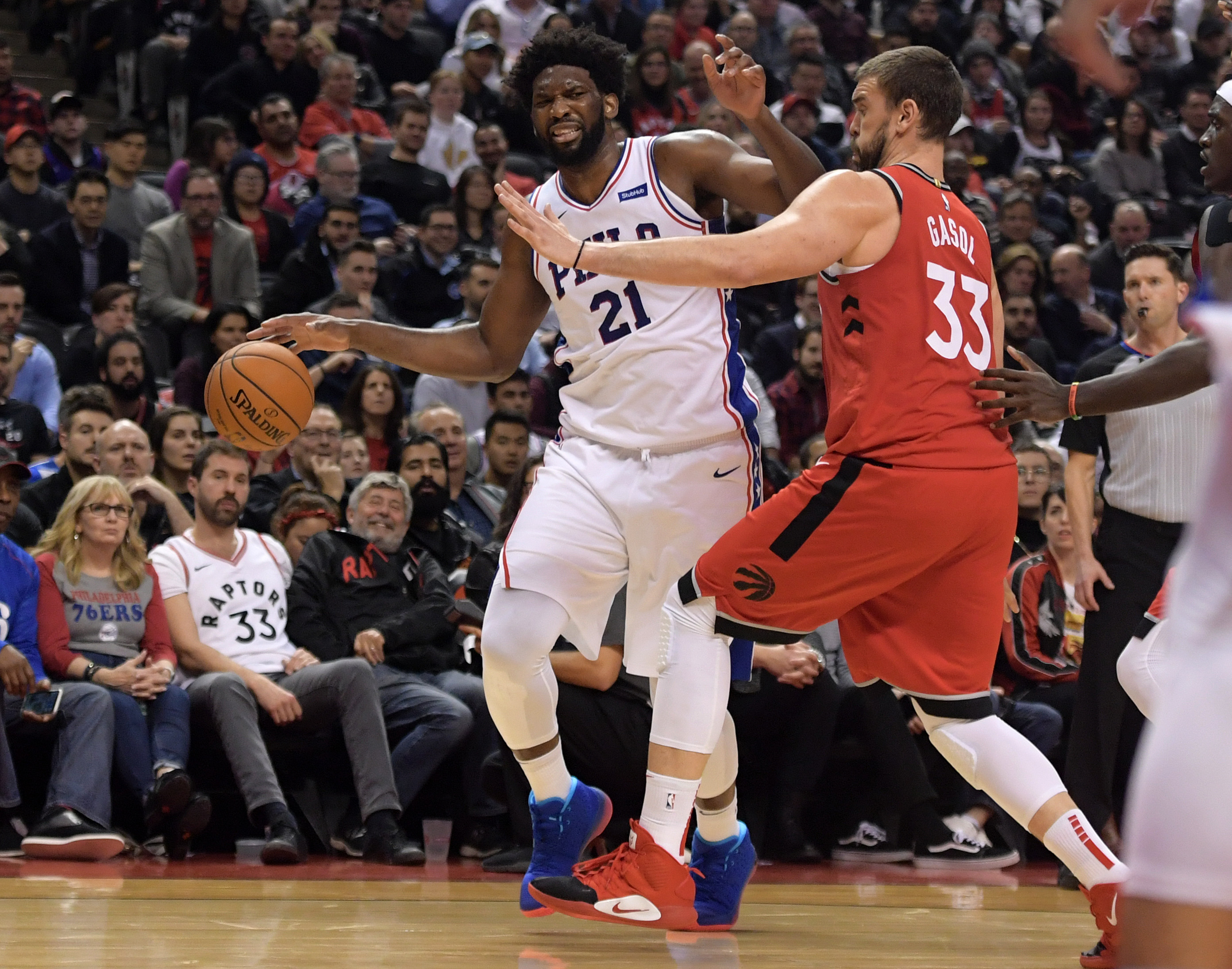 NBA: Philadelphia 76ers at Toronto Raptors