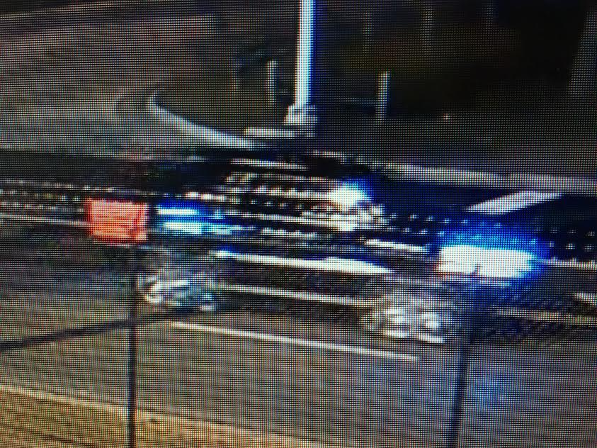 A surveillance image of the vehicle thought to be involved in the crash that killed a 22-year-old man Dec. 7, 2019 in west suburban unincorporated Proviso Township.