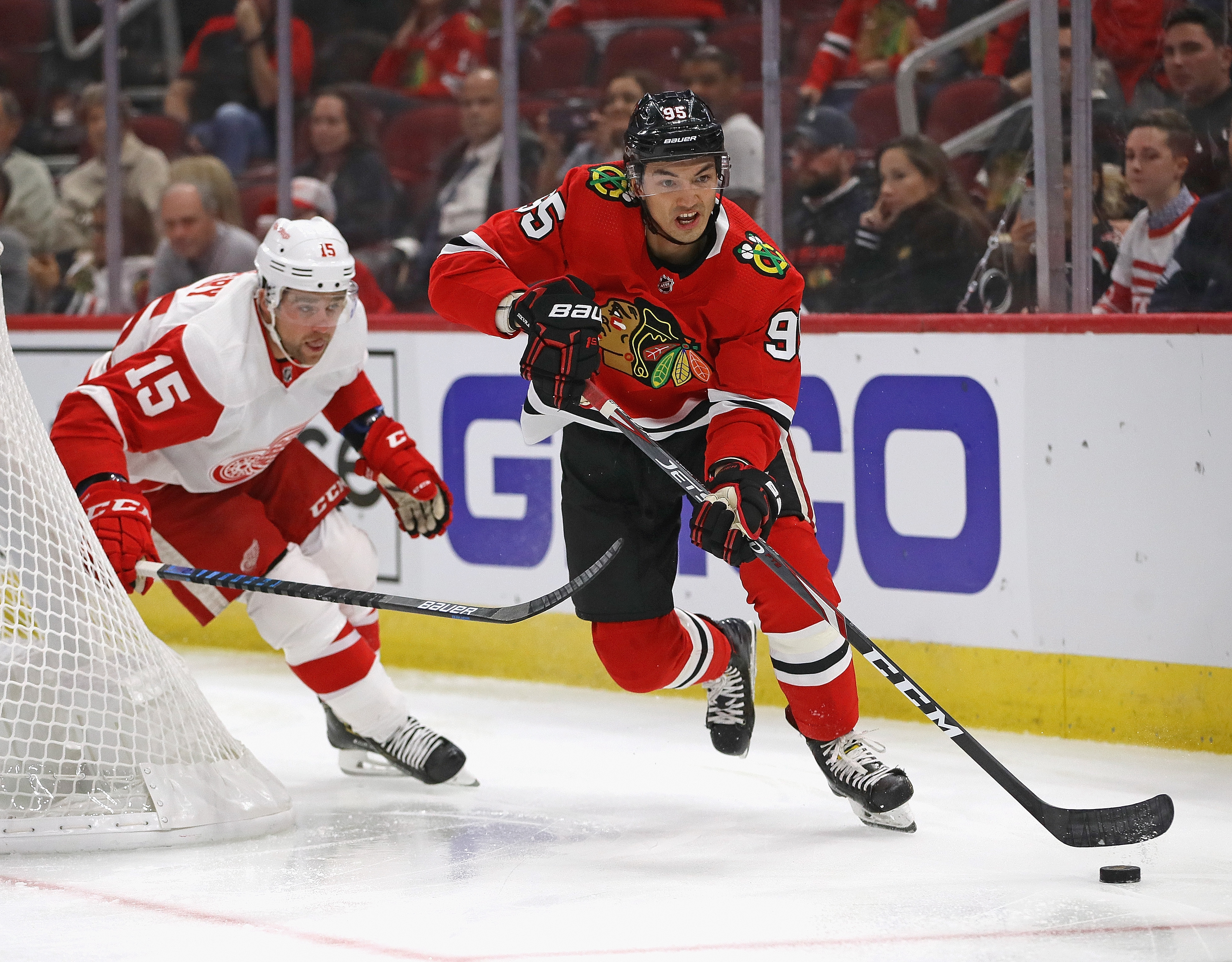Dylan Sikura needs a more productive NHL stint this year to maintain his spot in the Blackhawks' prospect pecking order.