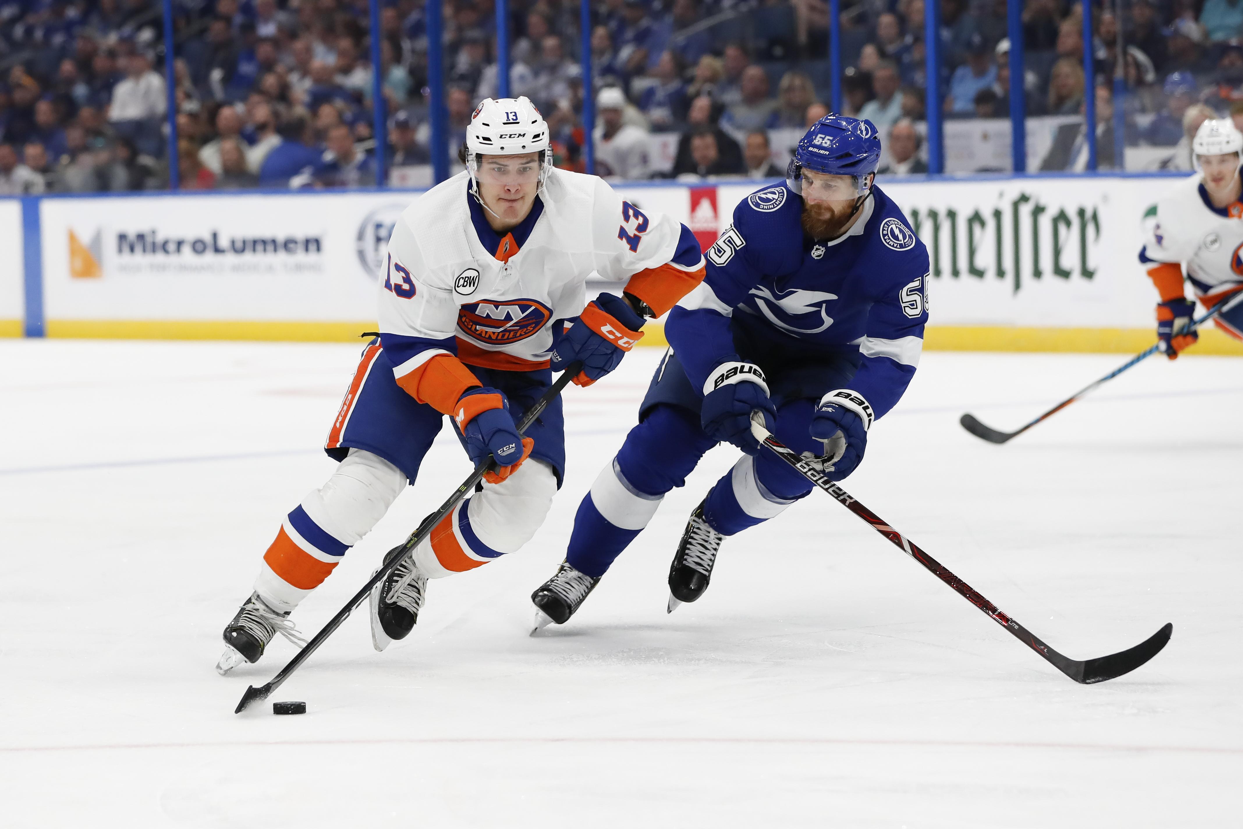 NHL: NOV 08 Islanders at Lightning