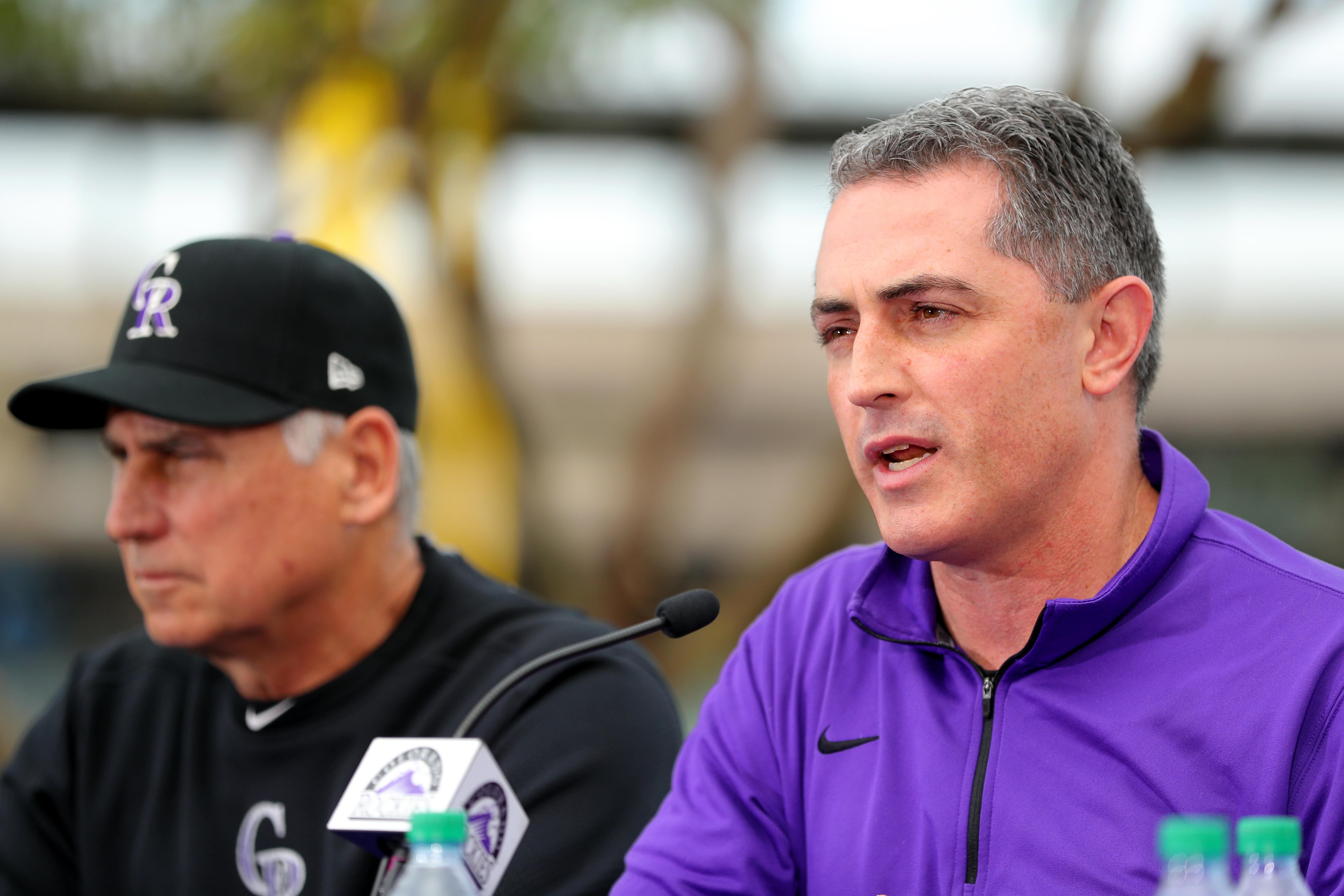 Nolan Arenado Press Conference