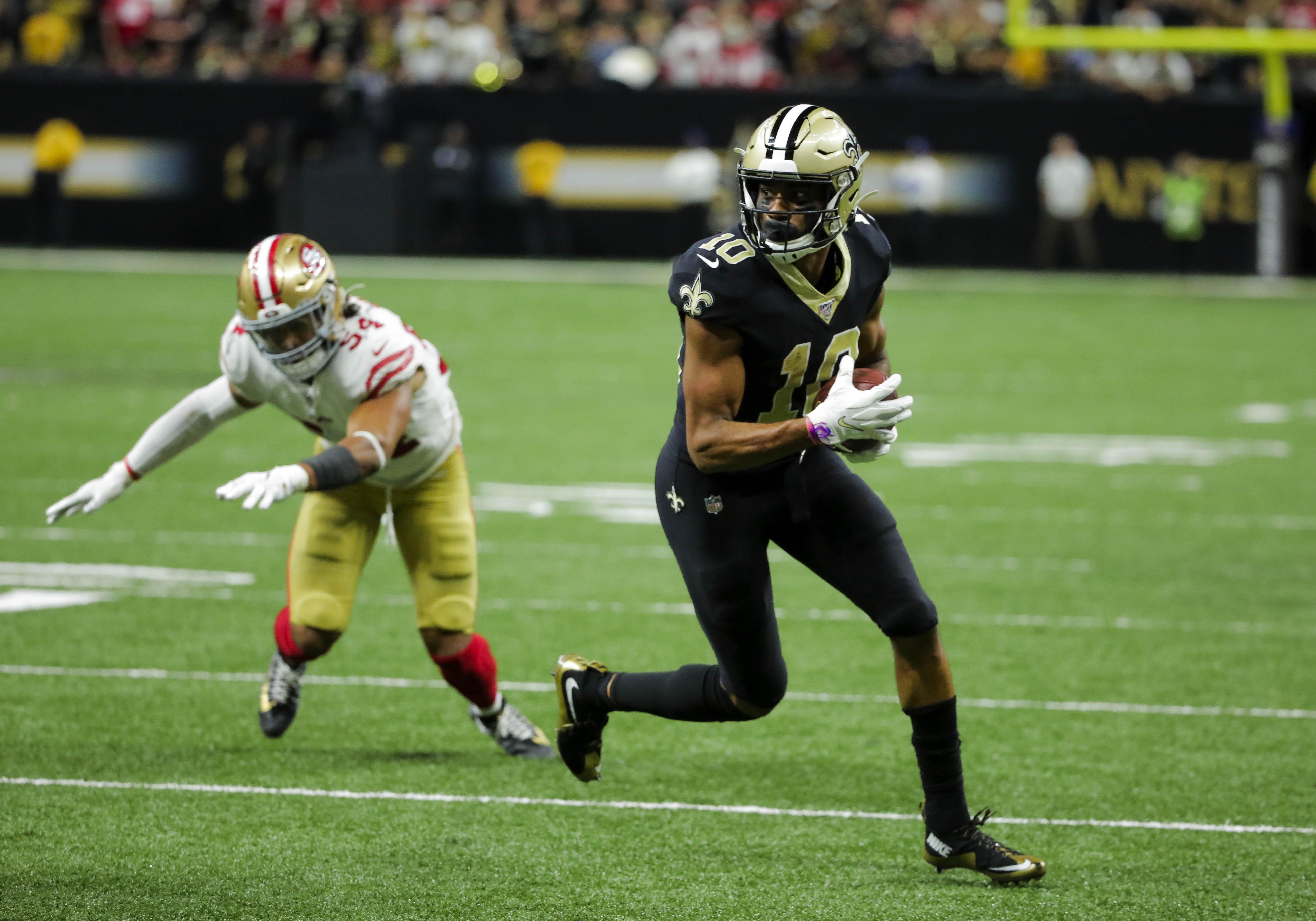 NFL: San Francisco 49ers at New Orleans Saints