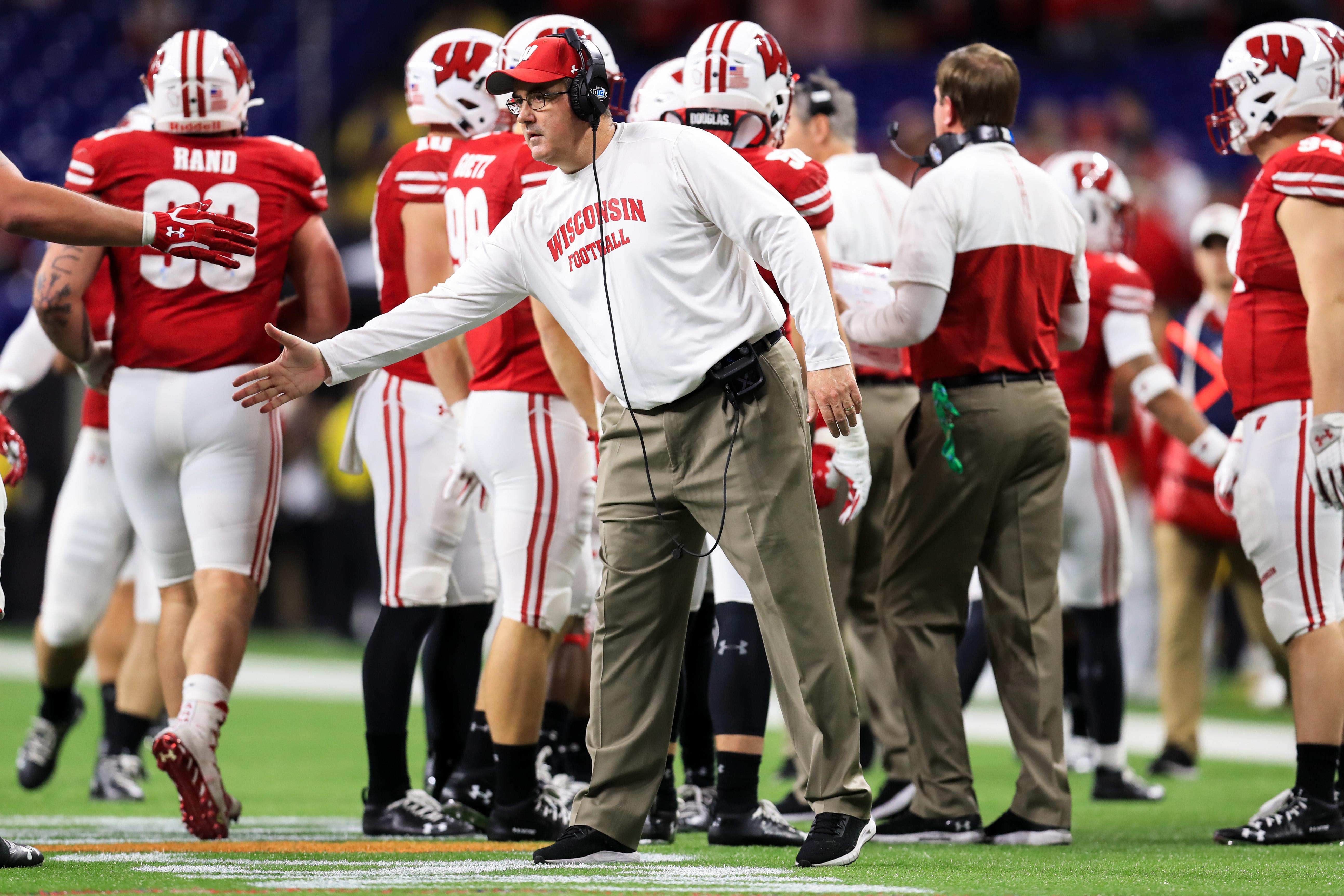 NCAA Football: Big Ten Championship-Ohio State vs Wisconsin