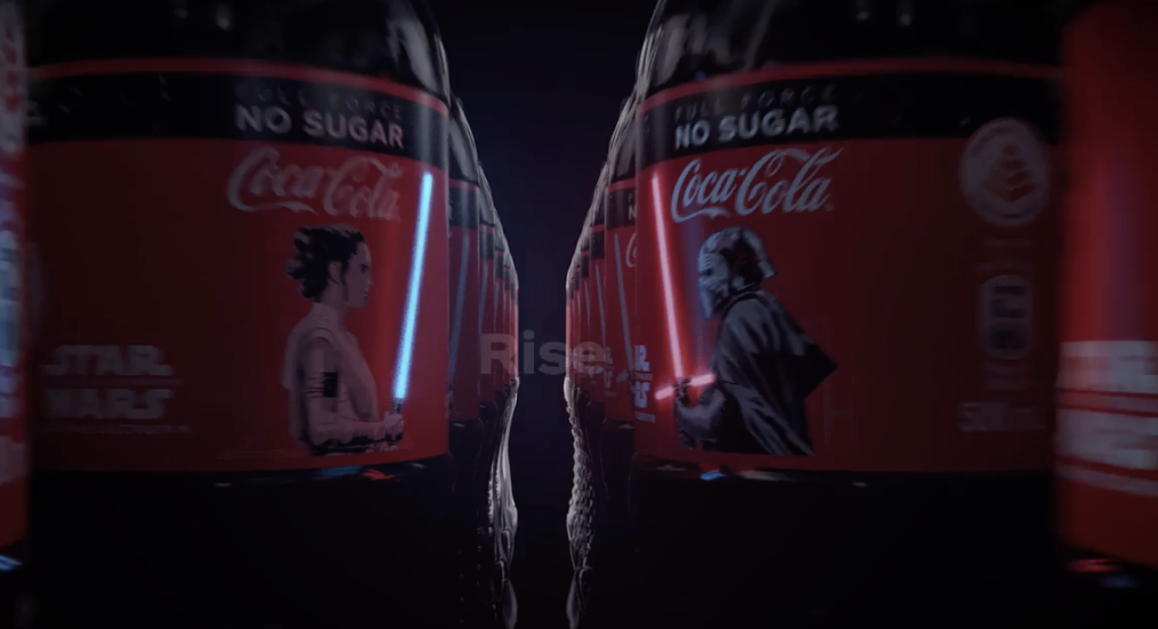 "The new Coke bottles — called the ""Special Edition Lighted 'Star Wars: The Rise of Skywalker'"" bottles — come with no sugar. And they're also extremely rare."
