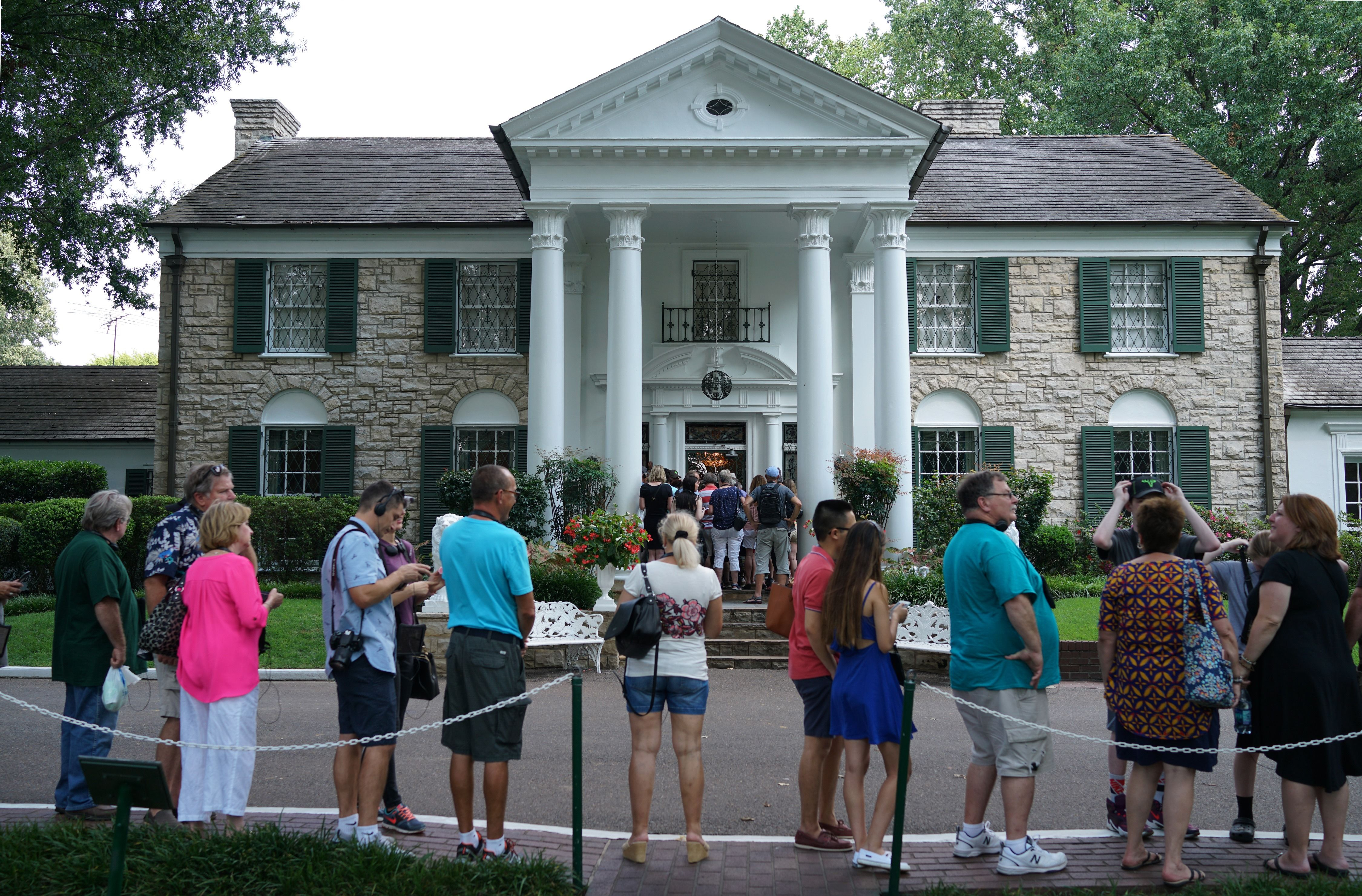 This is Graceland, where a fat dude died on a toilet.