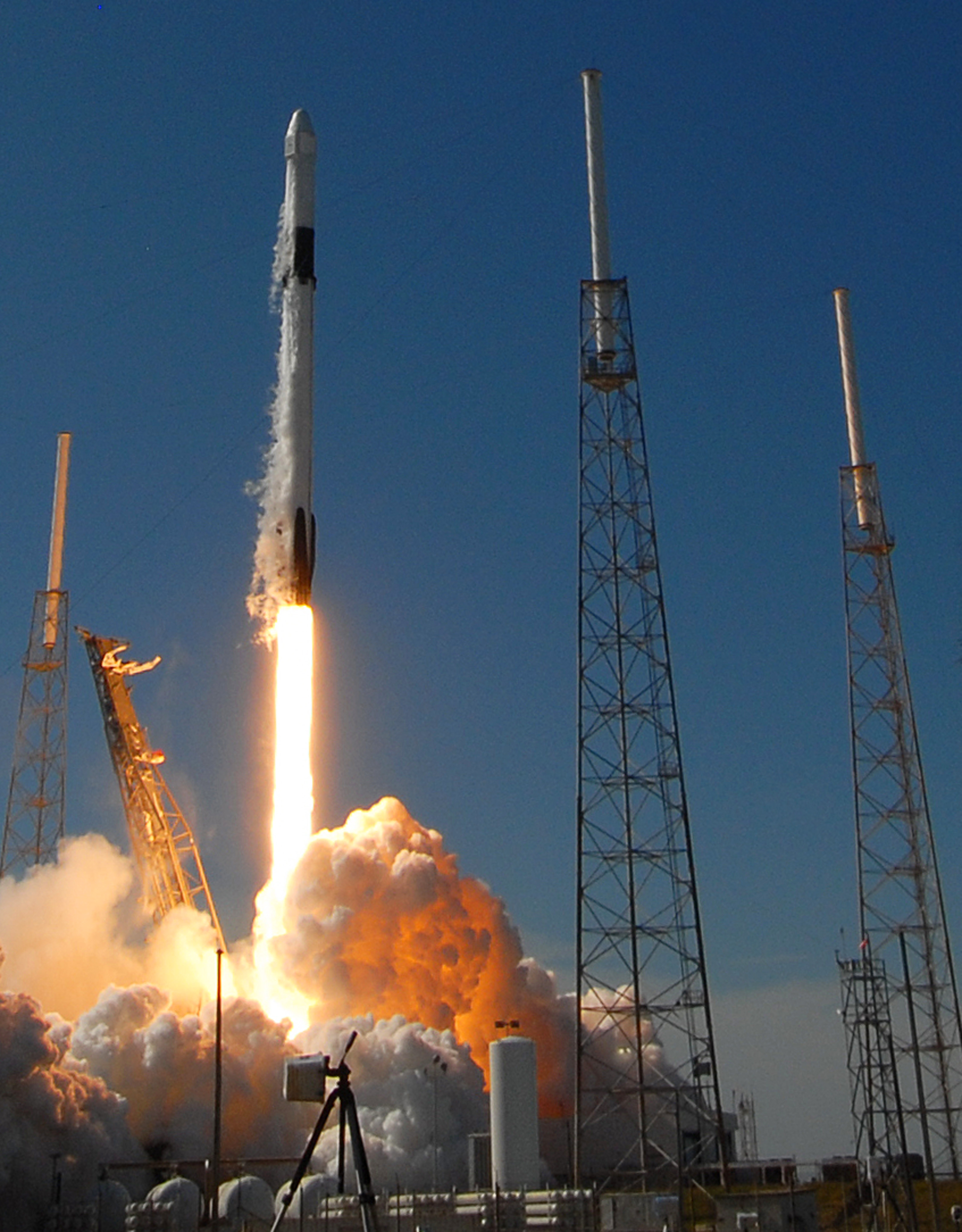 SpaceX Launches Resupply Mission to Space Station from Florida, US