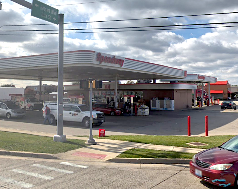 A Speedway in Naperville, 3004 111th St., was robbed at gunpoint Dec. 9, 2019.