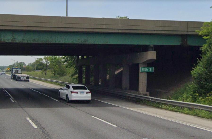 Bishop Ford Expressway near 111th Street